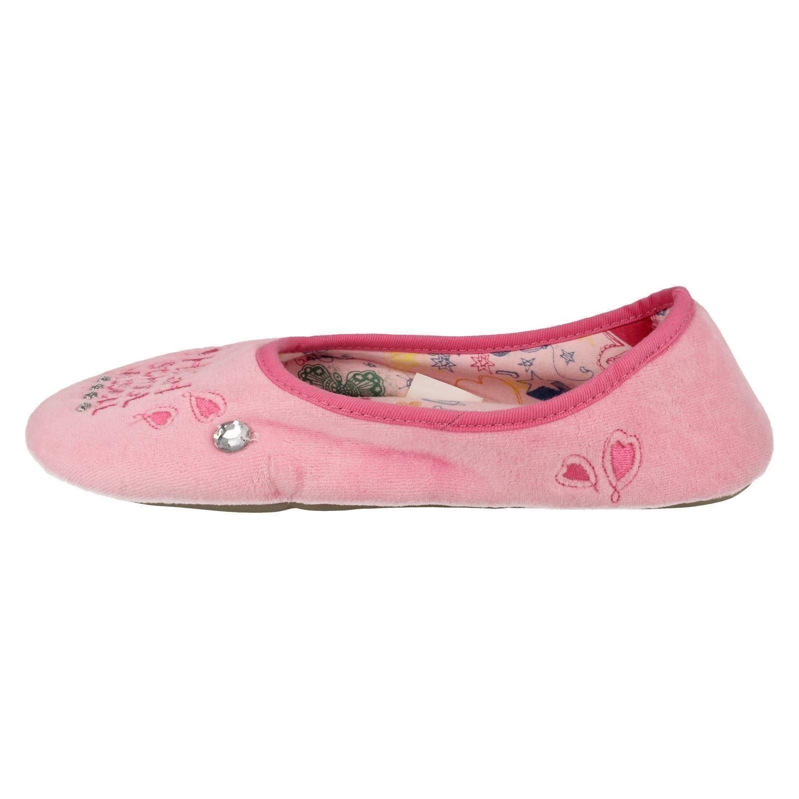 Girls Spot On Disney Slippers HSM Ballerina