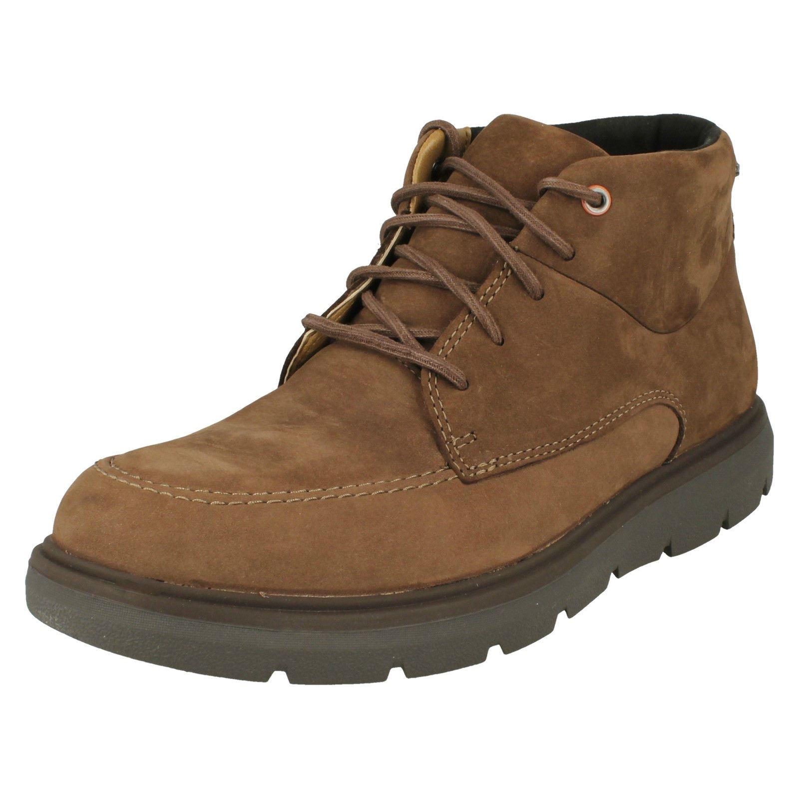 CLARKS Un Map Mid GTX Mens Ankle Boots