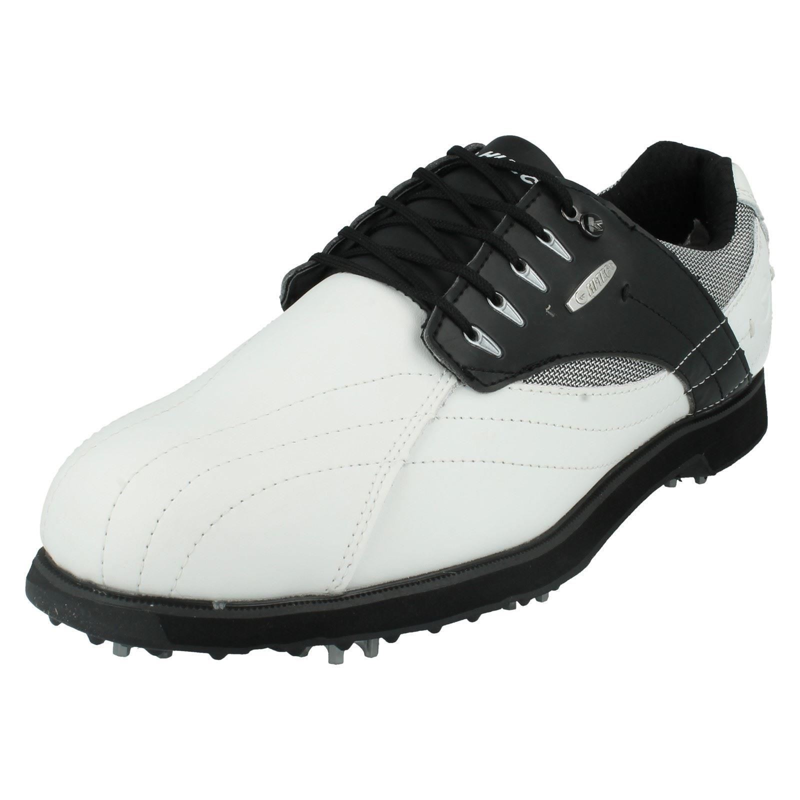 UK Shoes Store  MENS DRI TEC G 300 SPORTS GOLF SHOES TRAINERS LACE UP LEATHER WATERPROOF HI TEC