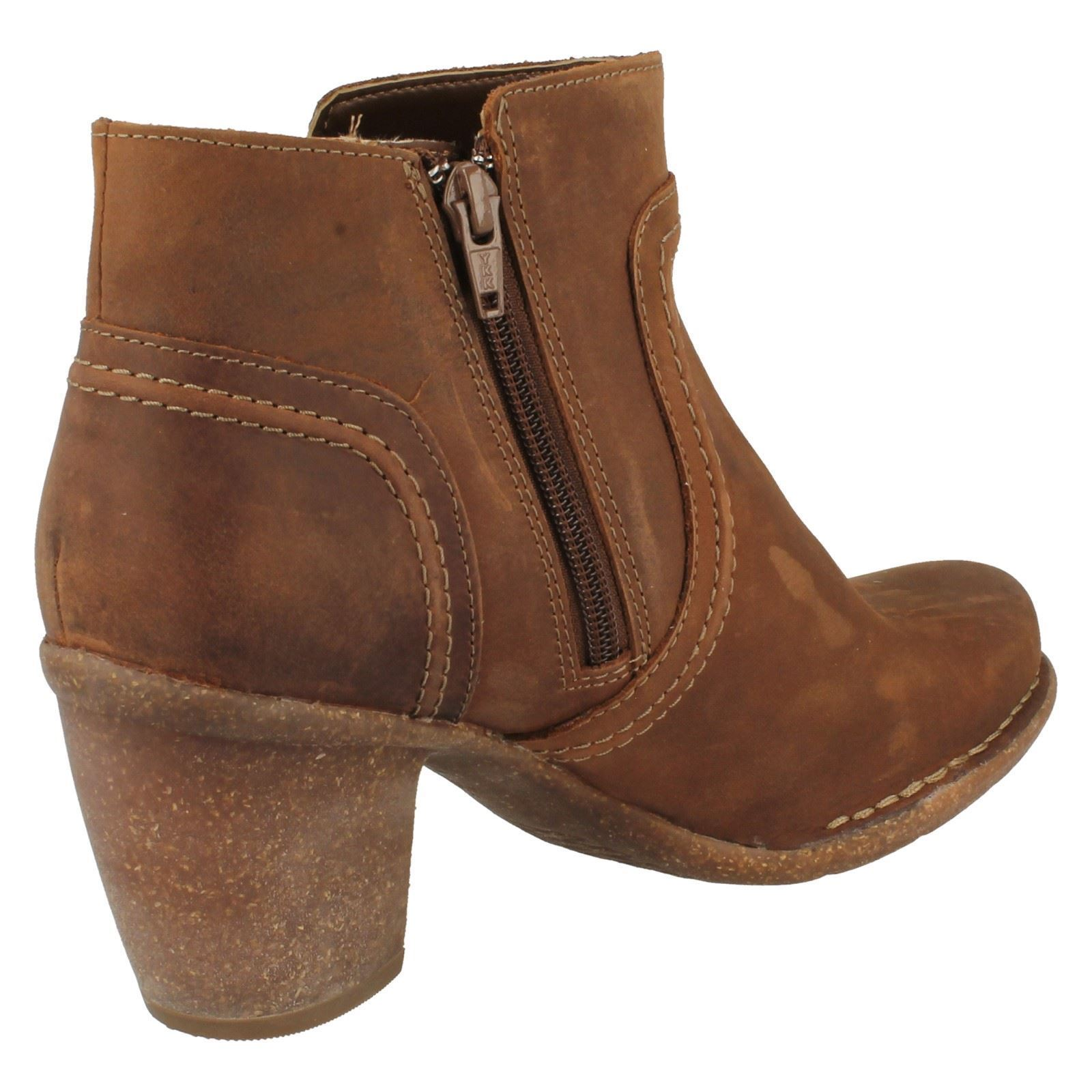 Clarks Ladies Chunky Ankle Ankle Chunky Boots Carleta Paris 4100de