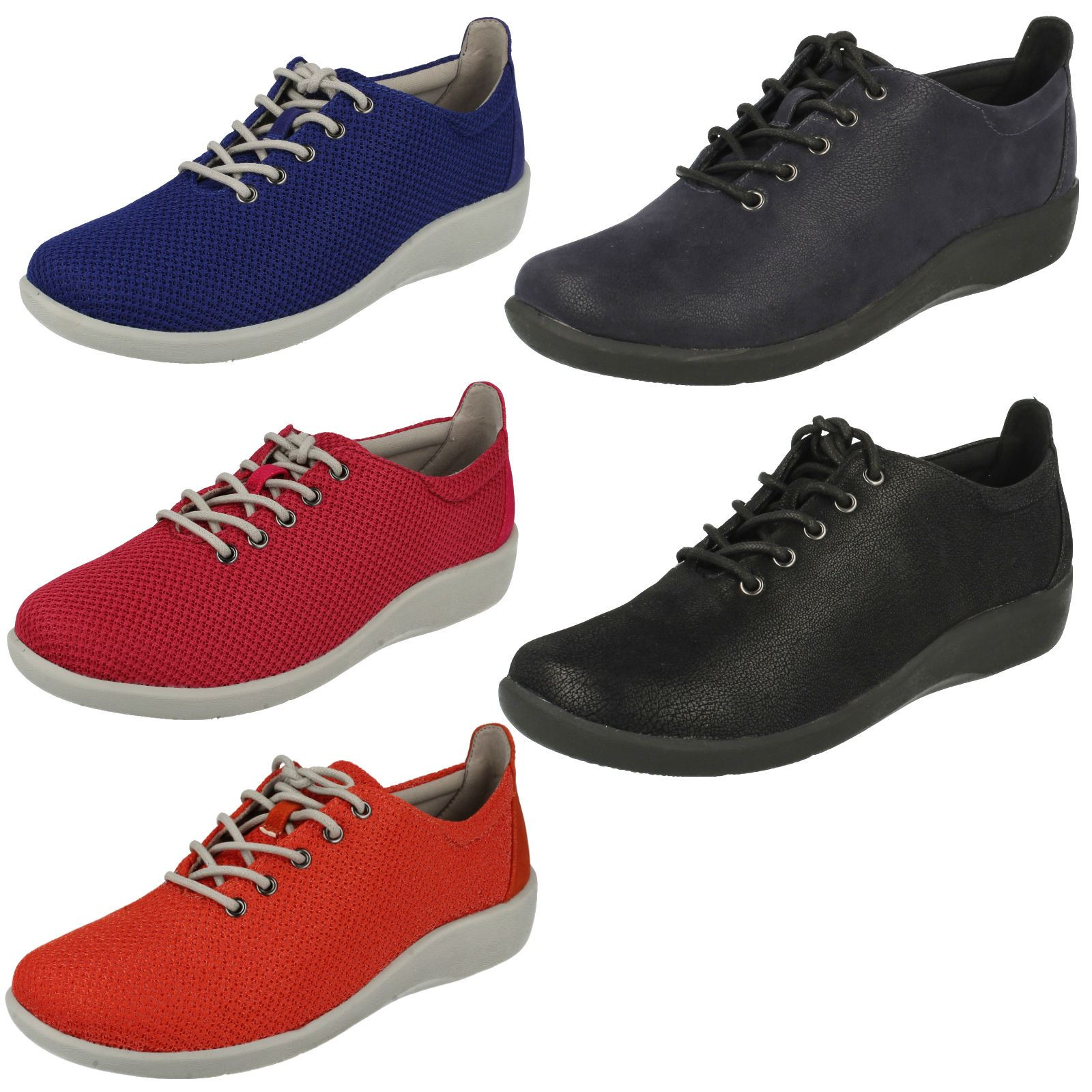 Ladies Clarks Cloud Steppers Sillian