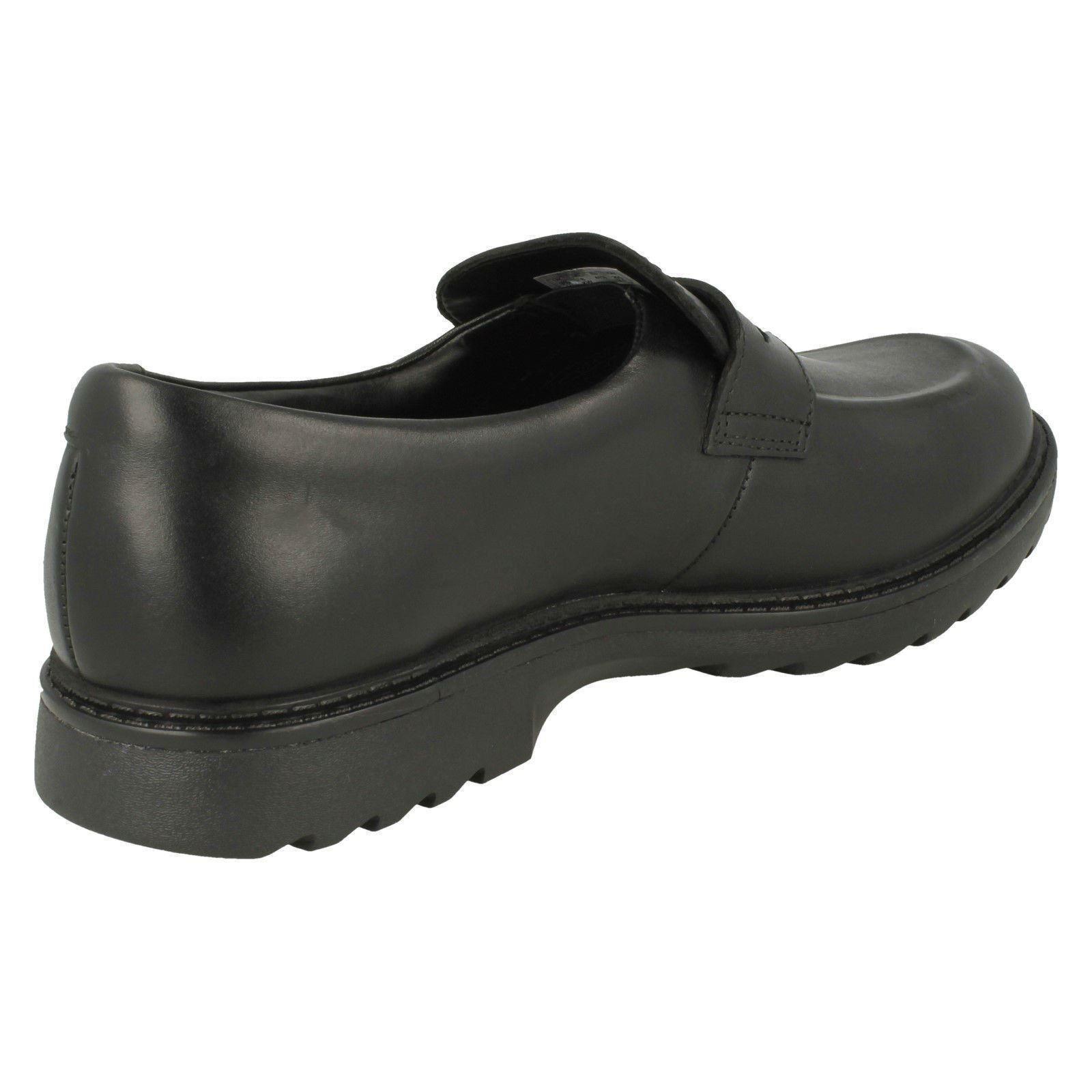 formales se zapatos Stride los Asher Black Boys Clarks deslizan en RnwYnq5