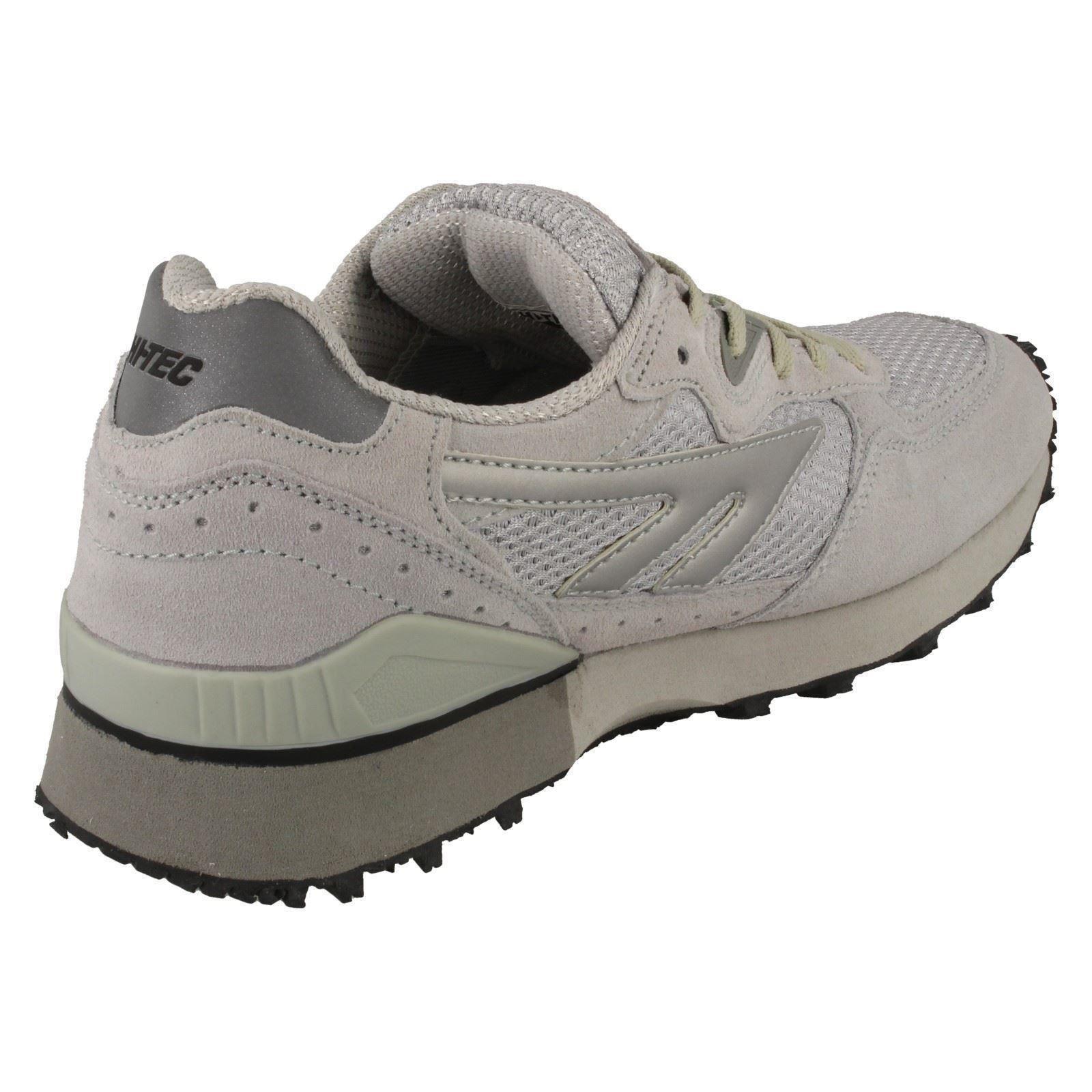 Zapatillas para hombre Informal Hi-Tec sombra de Plata II