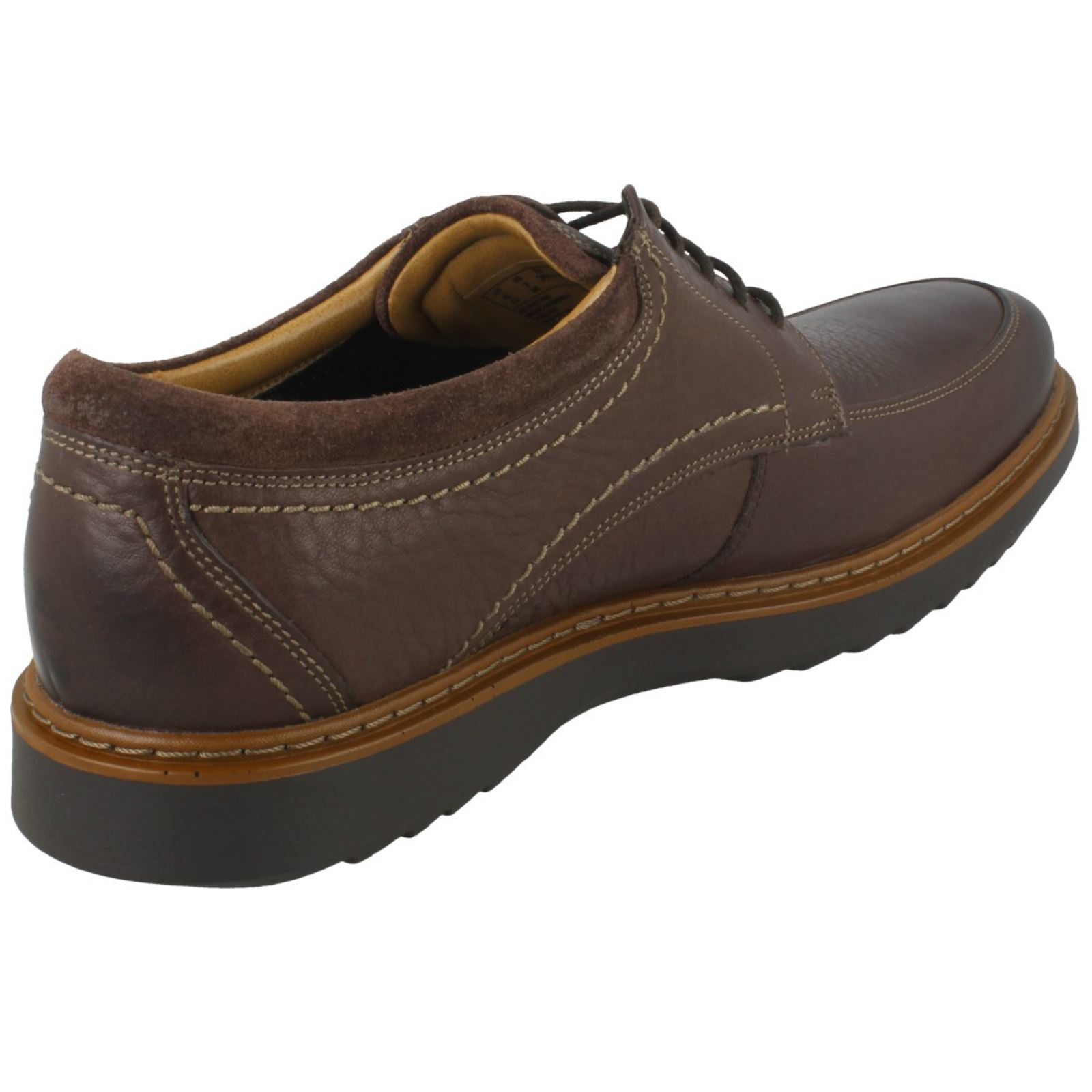 Mens Mens Mens Unstructurot By Clarks Lace Up Casual schuhe Un Geo Lo 994ad6