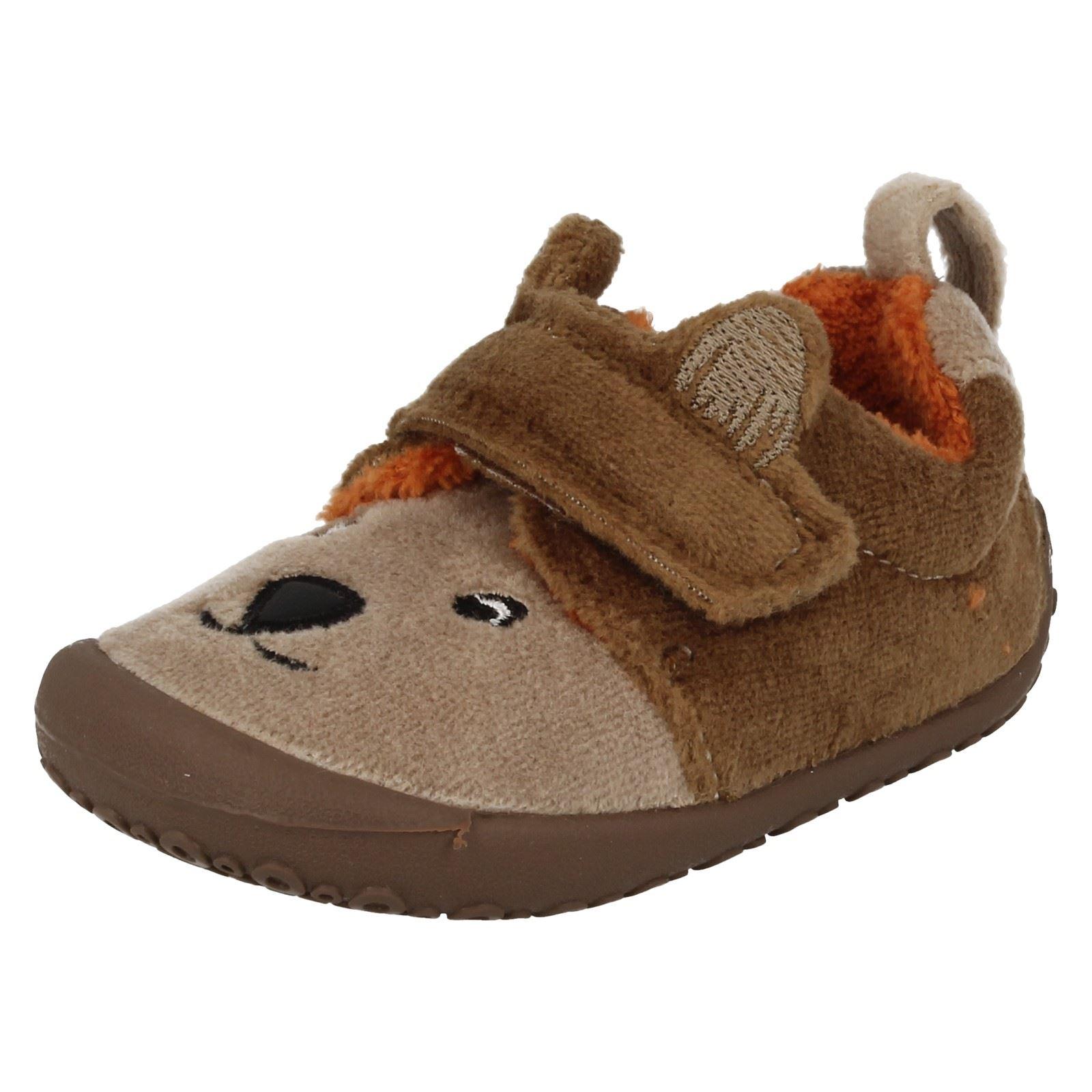 Boys Clarks Slippers Snoozy Paw | eBay