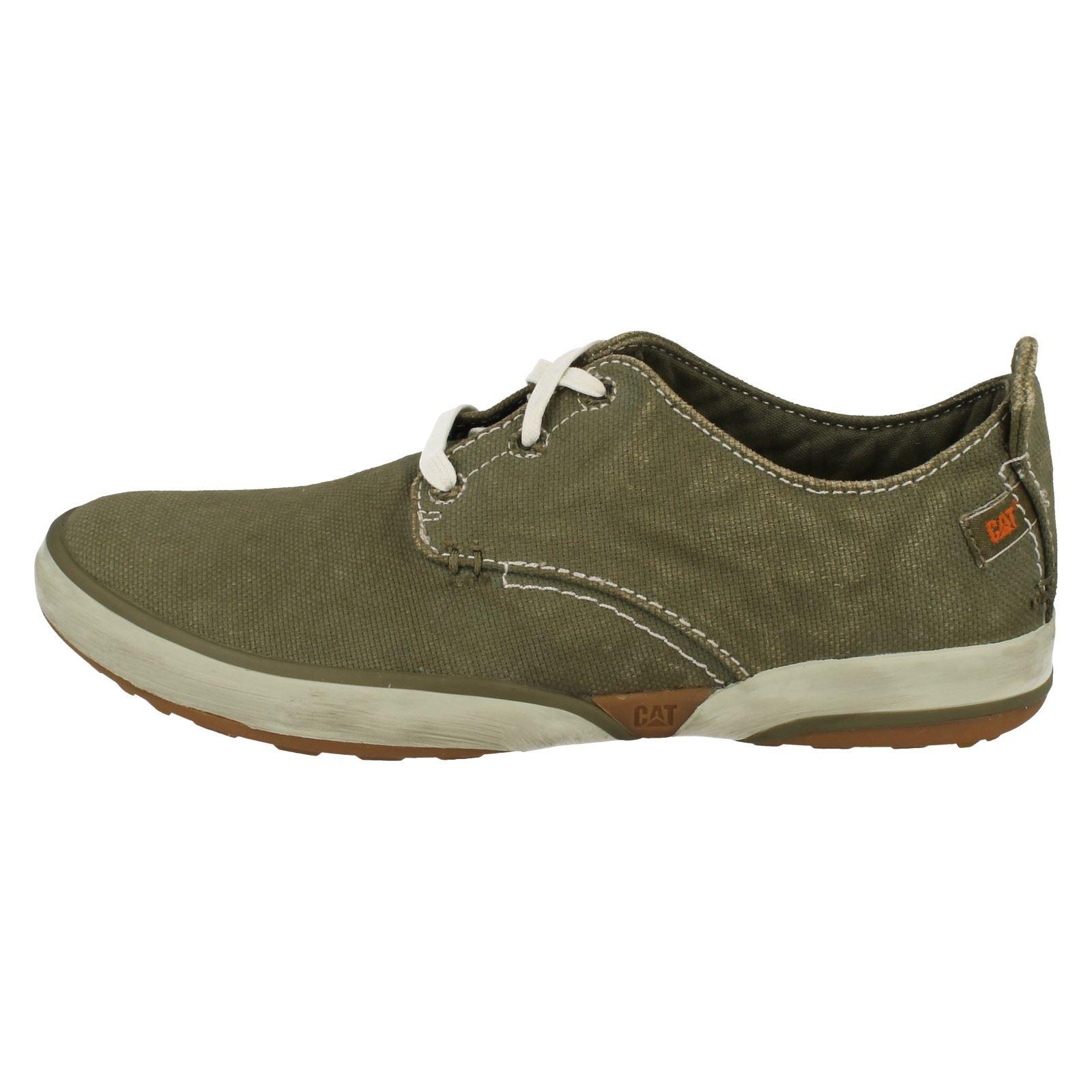 Shoes Casual Hedge verde Caterpillar Canvas Status Oxford Mens 'p713671' q7t5aBF