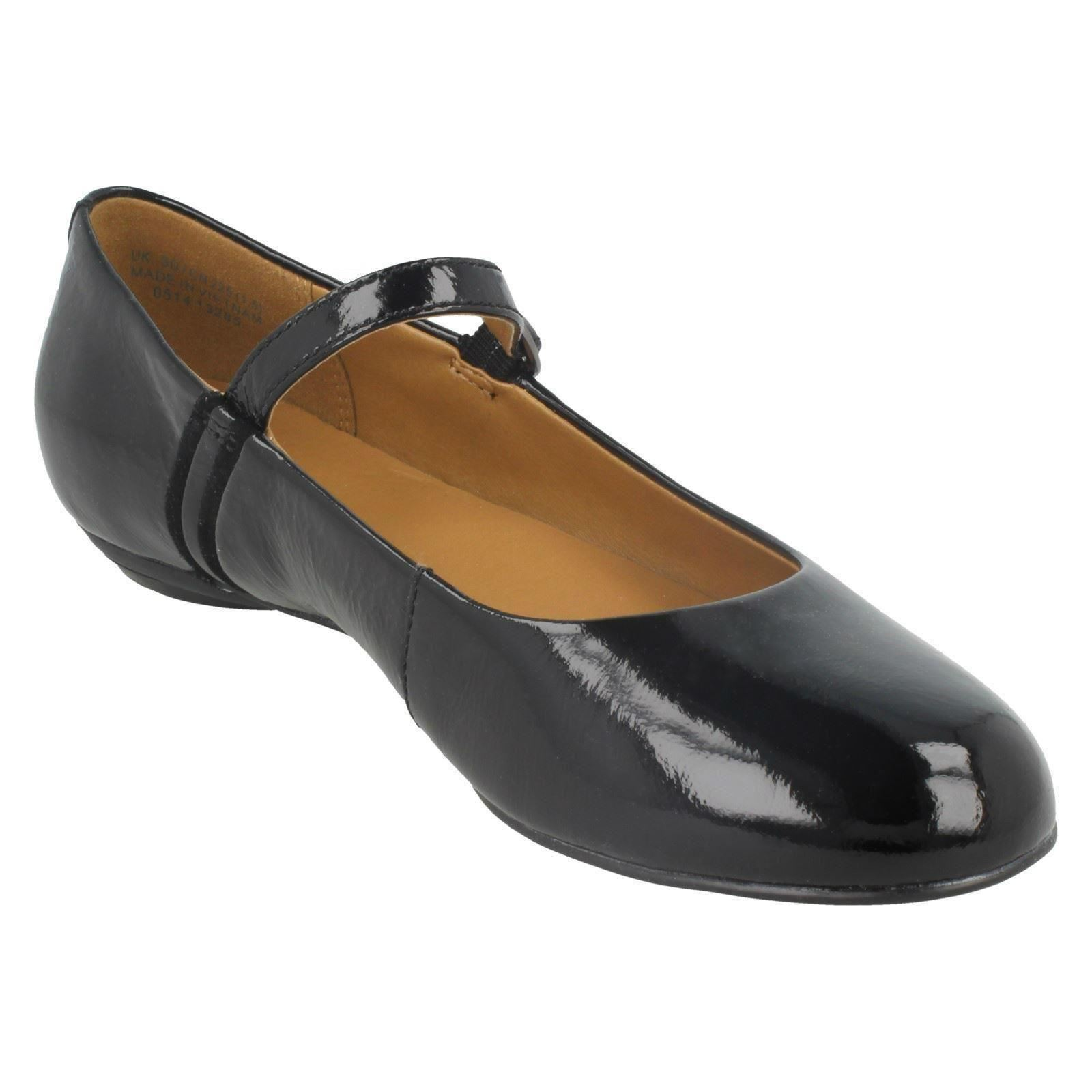 Clarks Buckled Black Shoes Ladies Soda Patent Frothy pHFdxwfqx