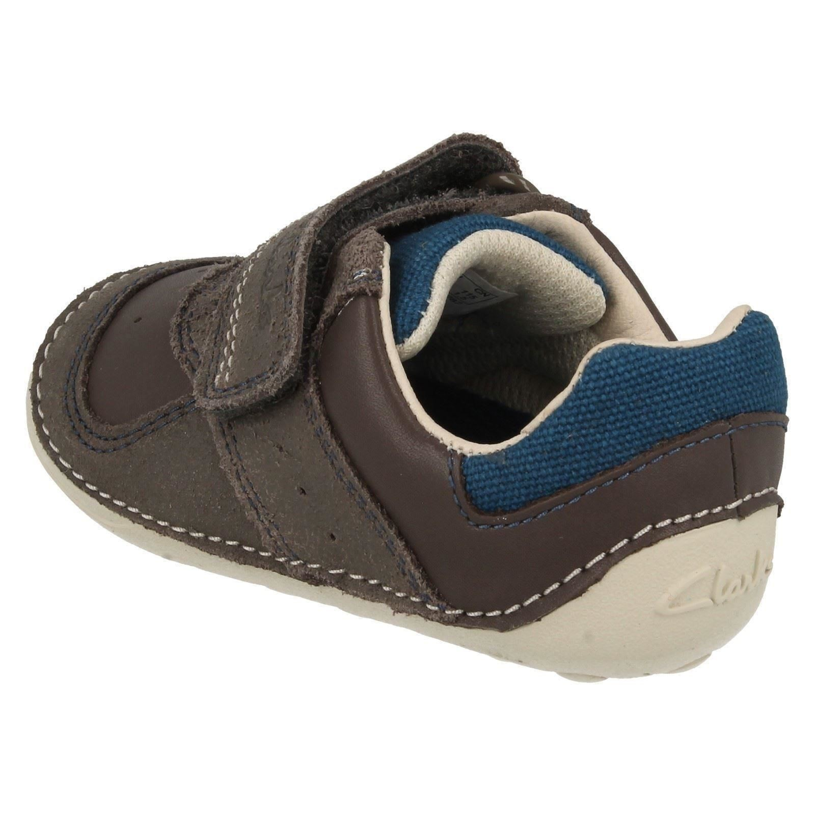 Clarks Infant Boys First Cruiser Shoes - Tiny Tay