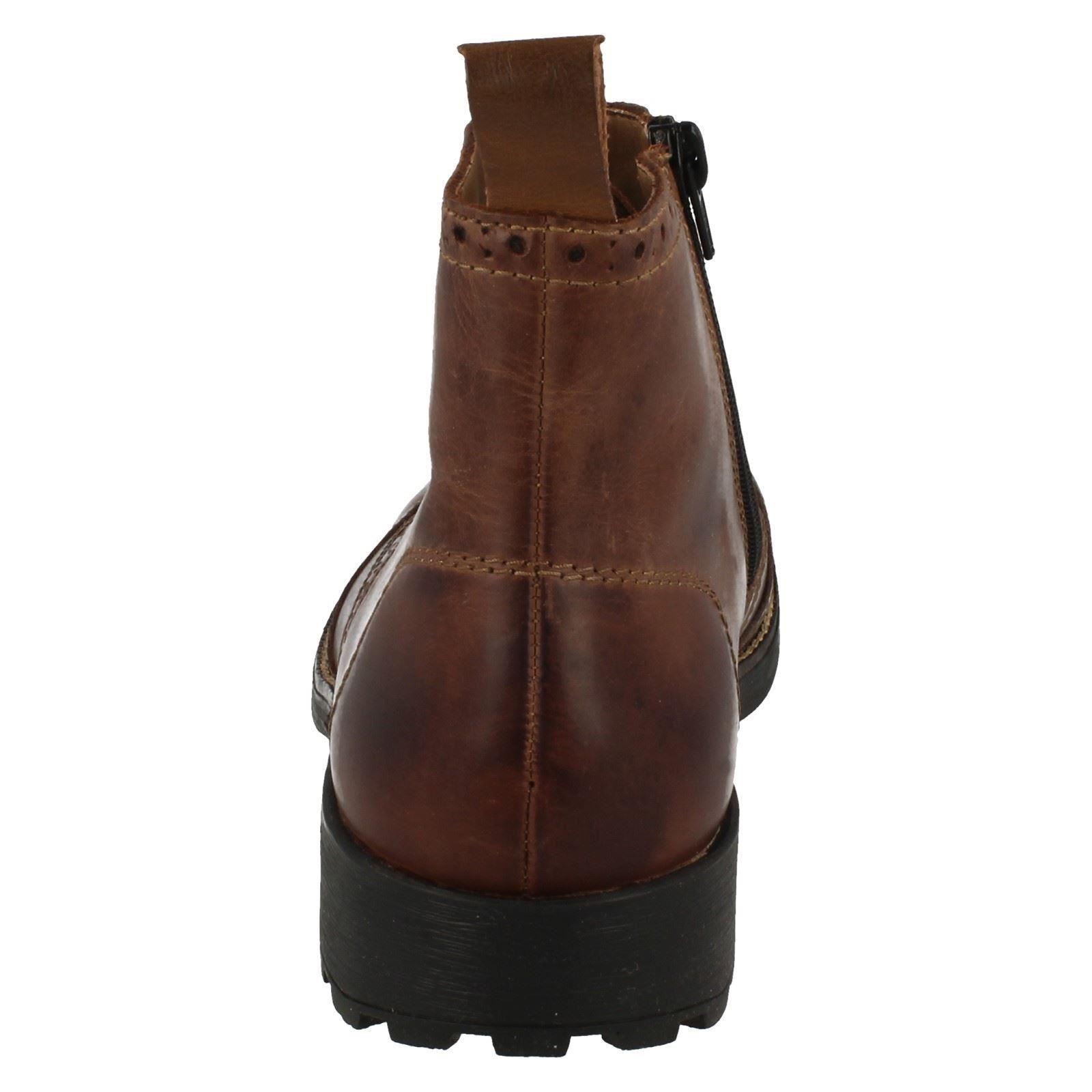 Mens Brown Boots Rieker Casual 36041 TZ0CxdC