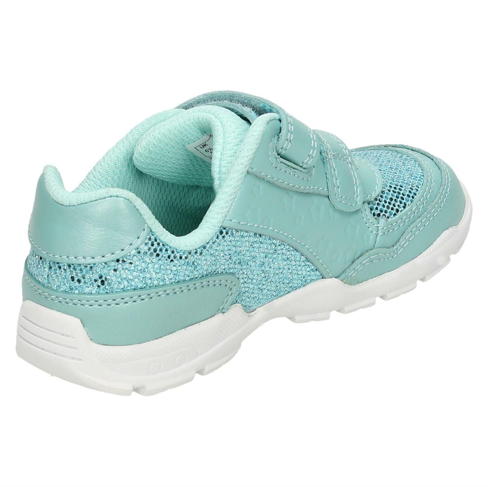 Zapatos de chicas primera Por Clarks Deportes Entrenadores Brite juego