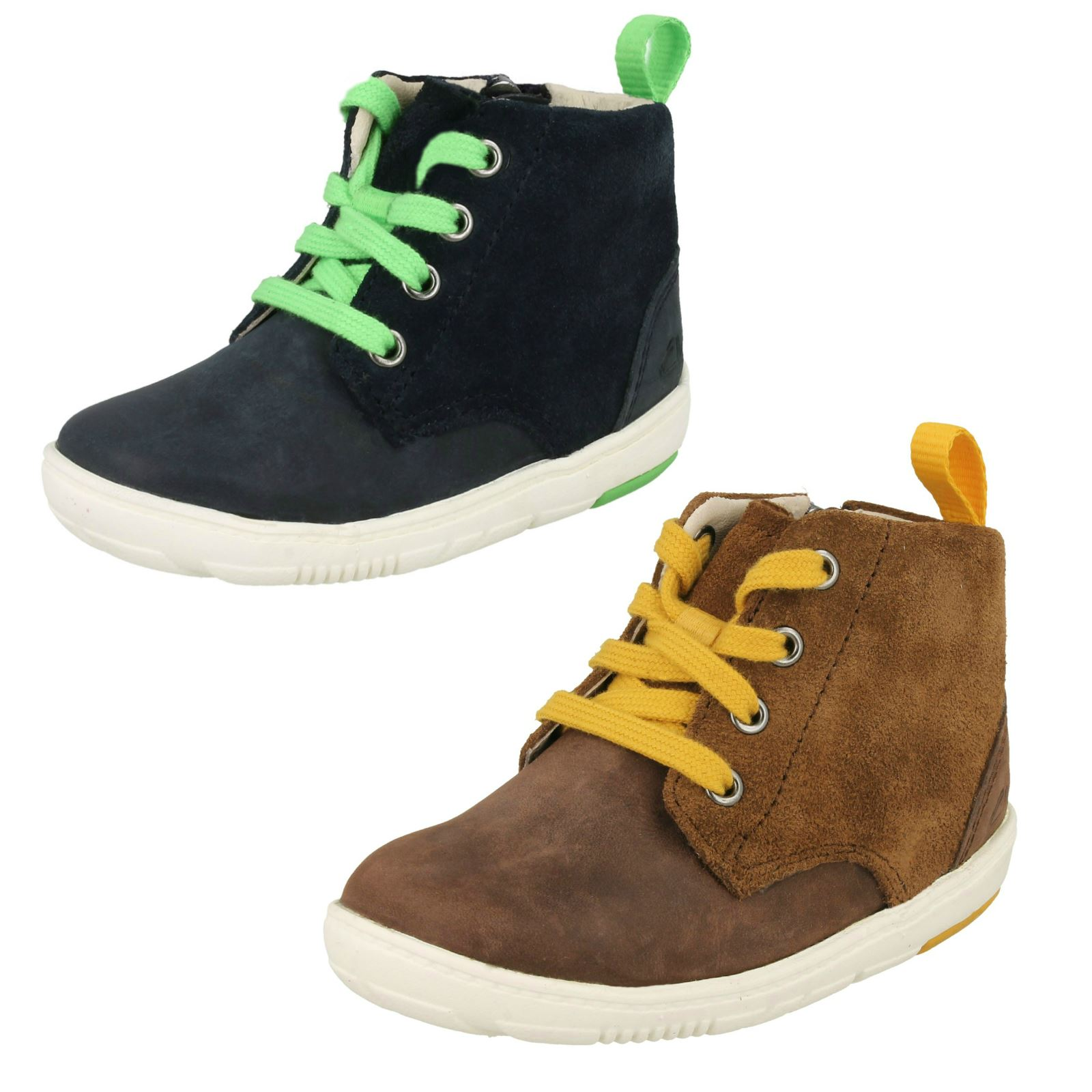 6498153be45 Boys Clarks Ankle Boots Maxi Hehe
