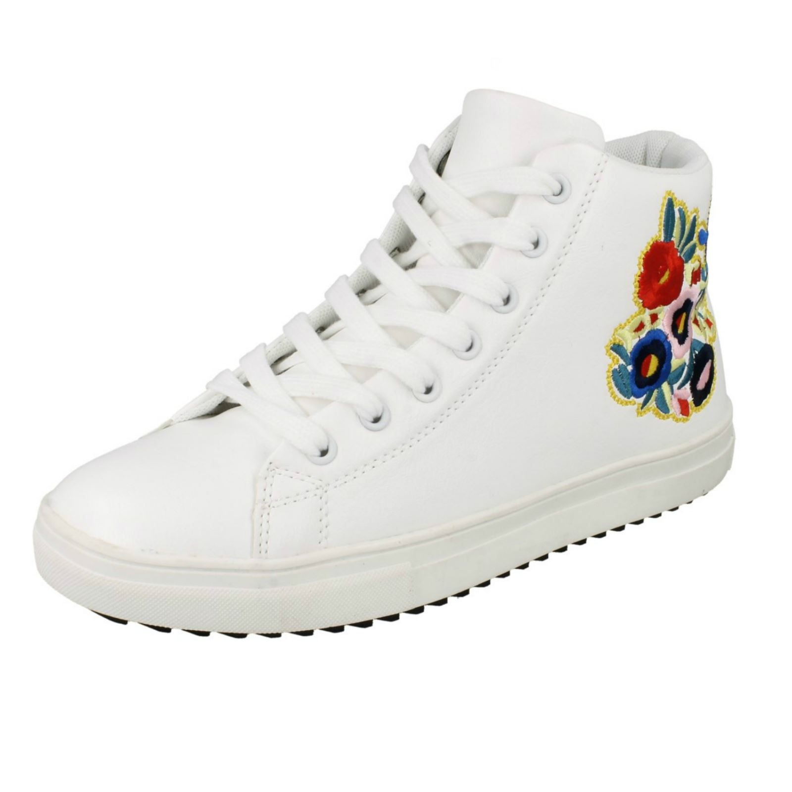 Donna Spot On hi-top scarpe a stivaletto