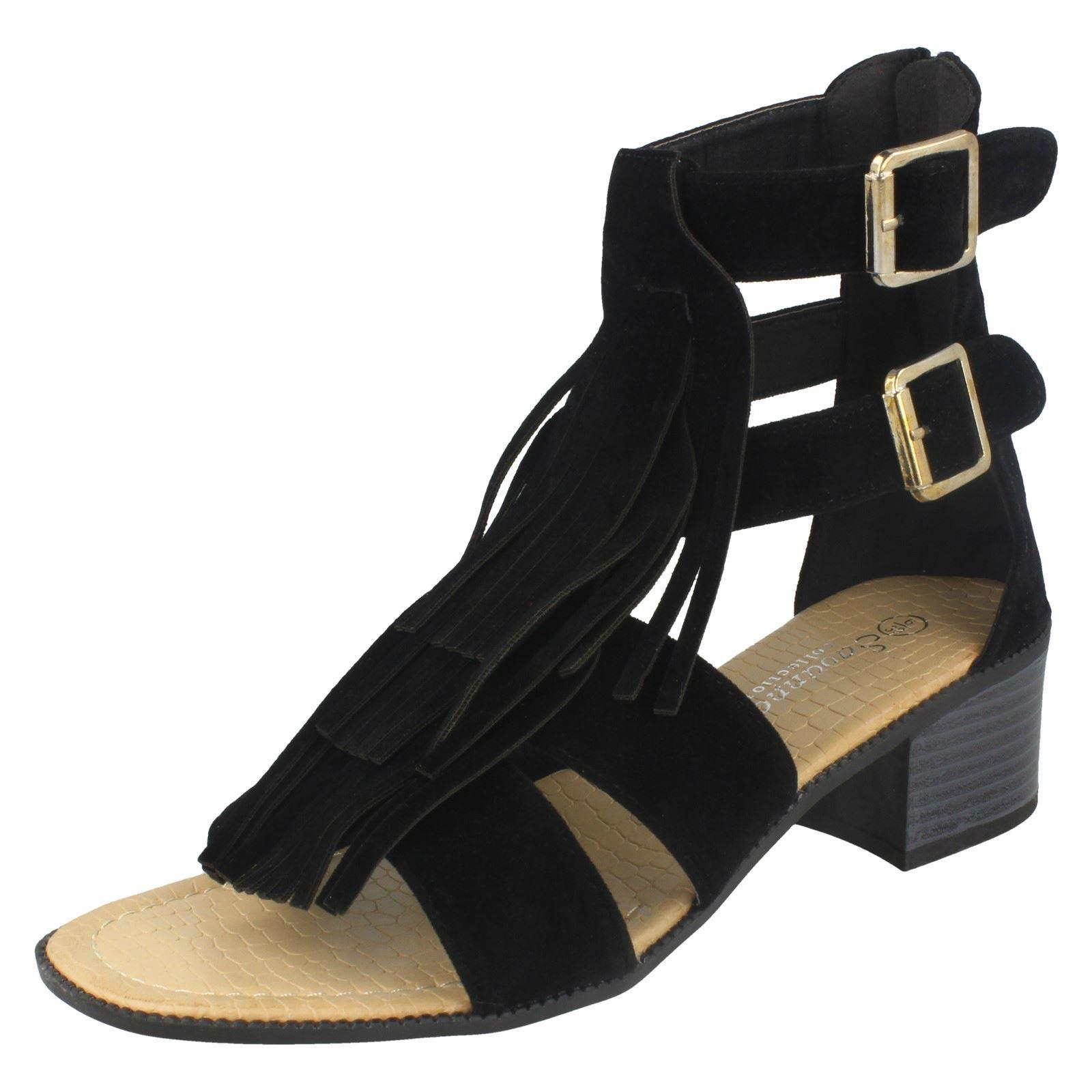 Savannah - Strap alla caviglia donna , nero (Black), 38 EU
