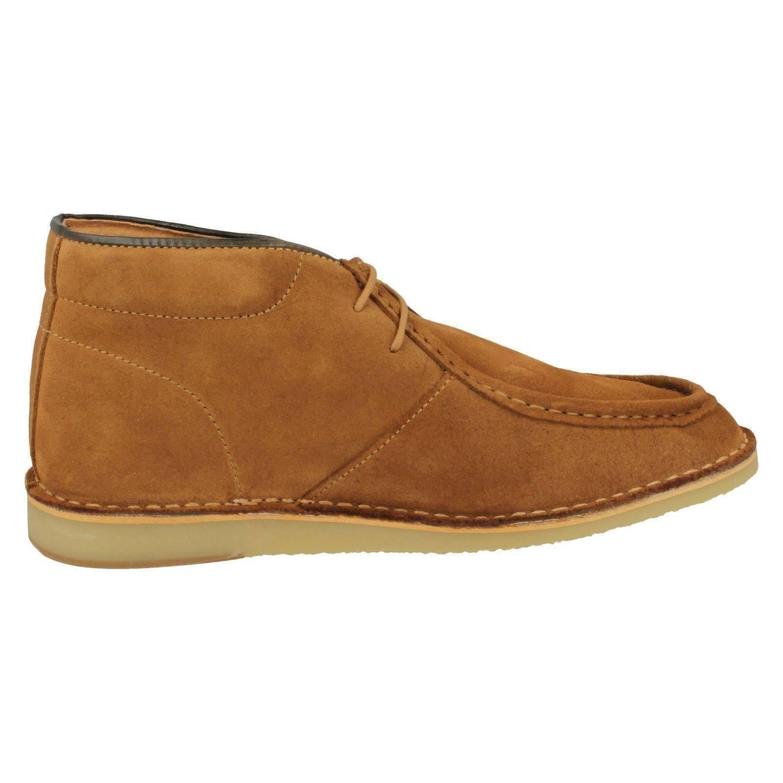 Mens Hush Puppies Smart Suede Boots Boots Suede - 'Hancock High' 7d441d