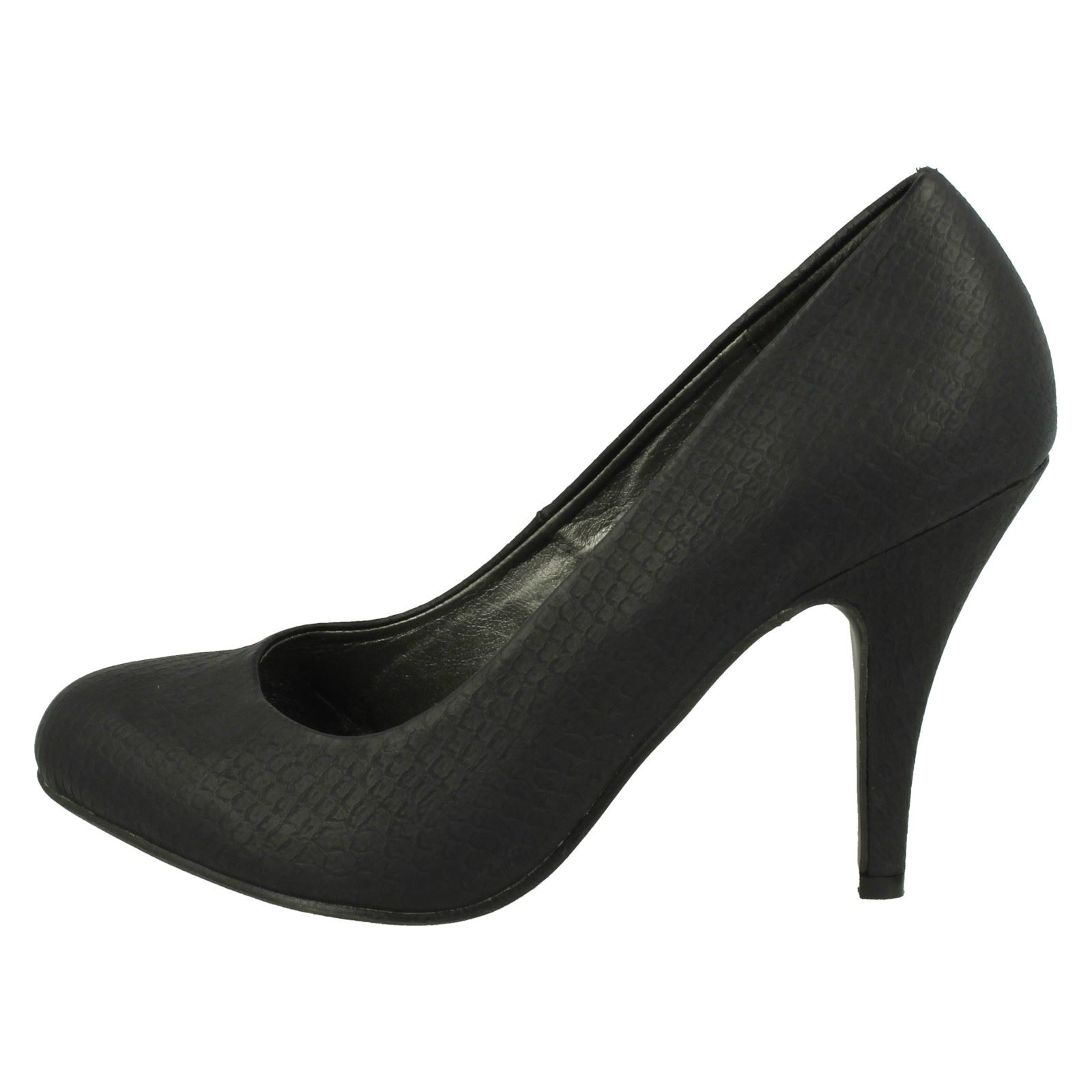 Damas Spot On Tacón Alto Court Shoe