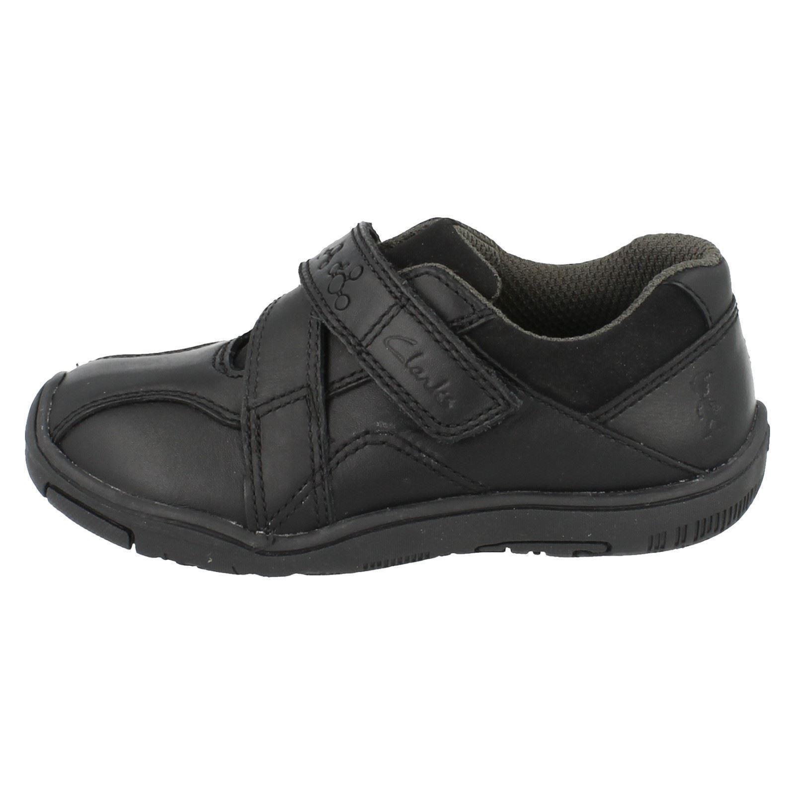 Clarks Zapatos De Escuela Niños Hook & Loop Nano aprender