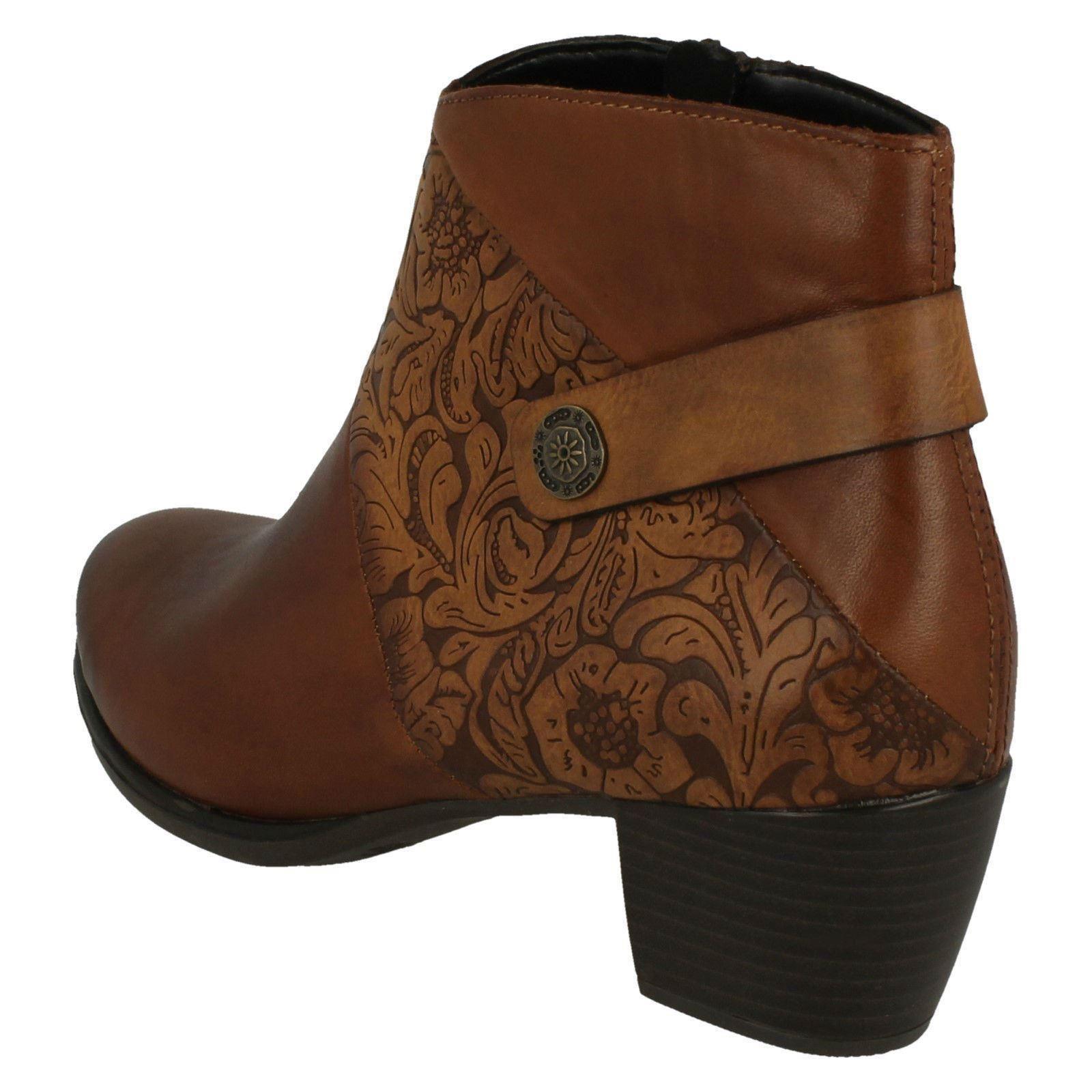 R2677 Ankle Brown Remonte Boots Ladies qBpzgU
