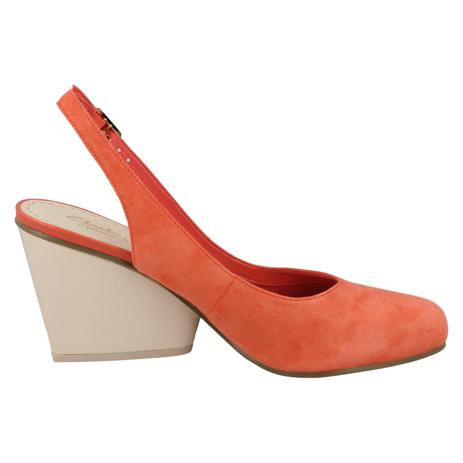 compensés Chaussures orange demerara Sugar Coral à Smart talons Clarks 6PwxEvRP