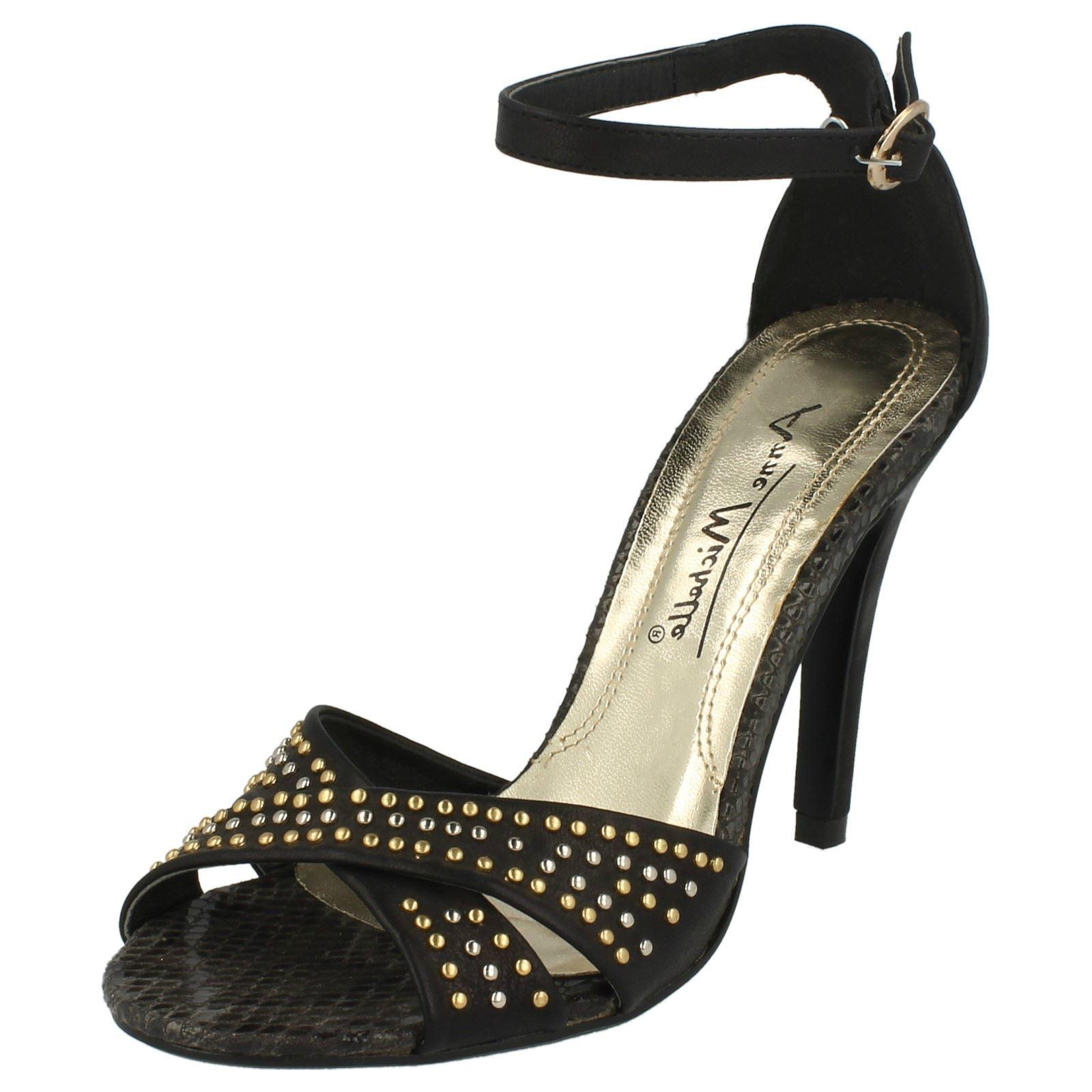 donna cinturino alla Caviglia sandali con tacco Anne Michelle