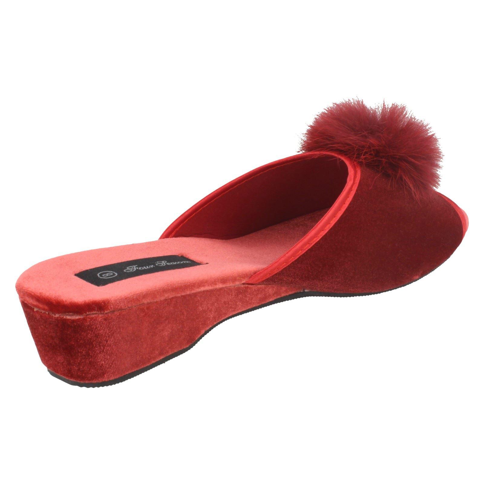 Ladies Four Seasons Luxury Mule Slippers *Marilyn*