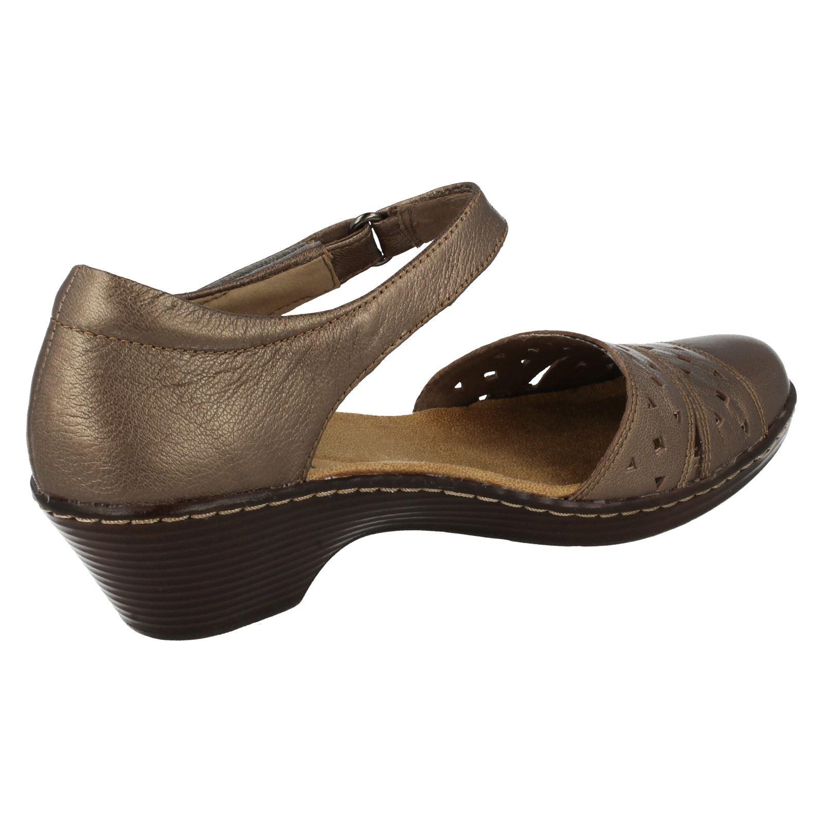 peltre Laurel' tacón marrón bajo de 'wendy Clarks mujer para Calzados 4ZURngAw