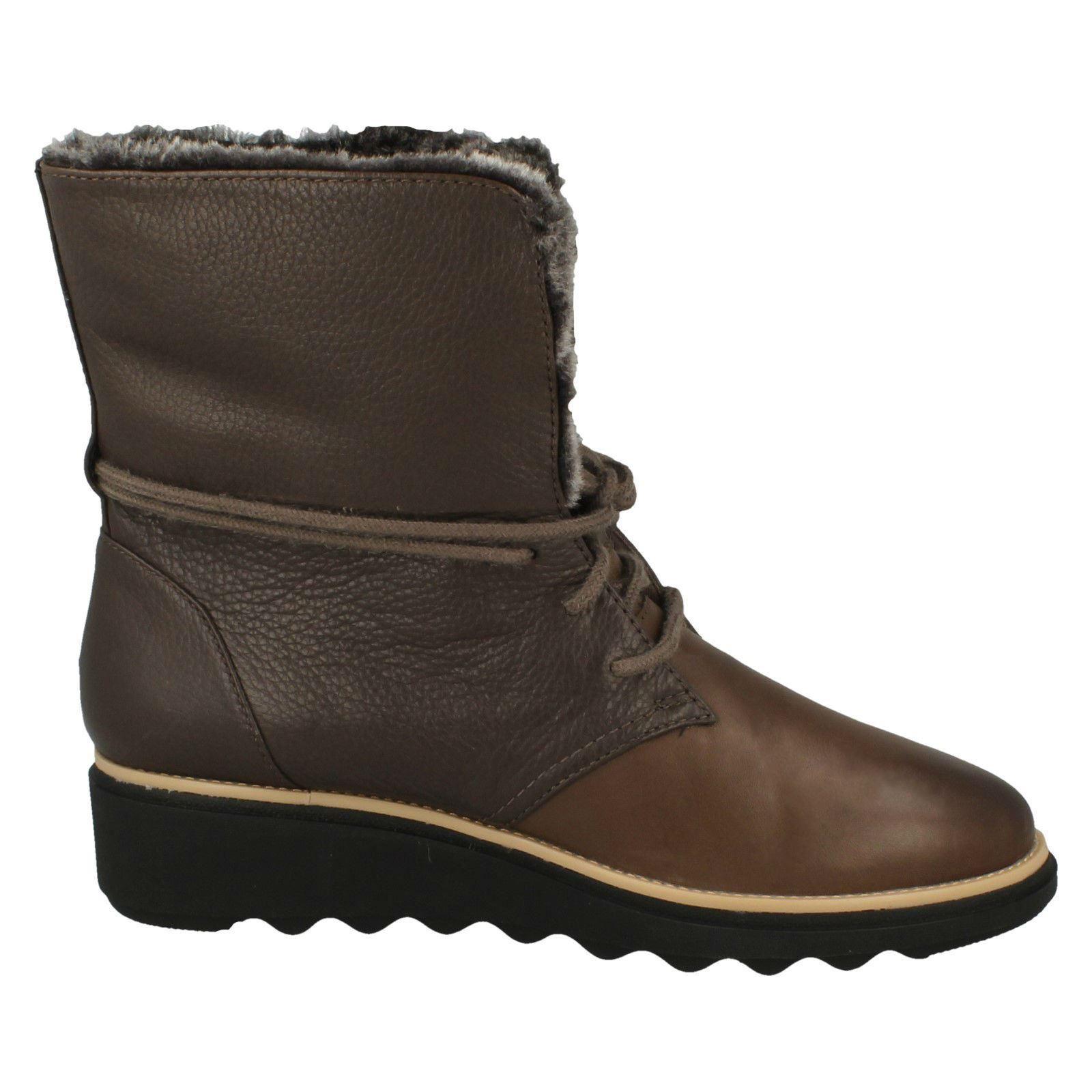 Womens-Clarks Winter Boots Sharon Pearl | eBay