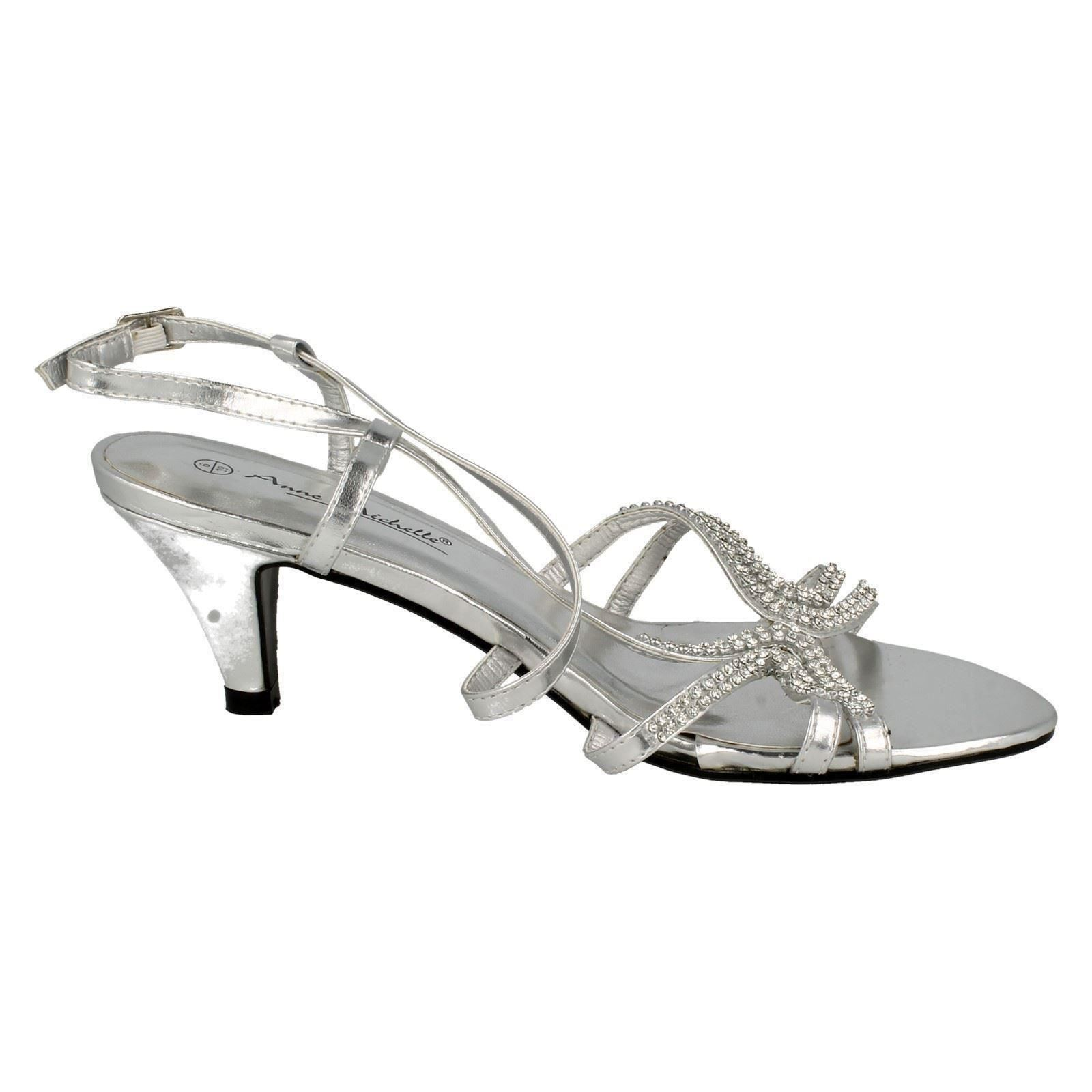 Ladies-Anne-Michelle-Buckle-Diamante-Detail-Cross-Over-Heels