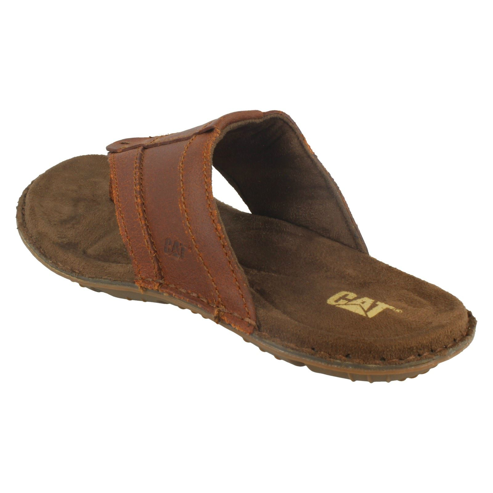 Homme Caterpillar toe post sandals Galley