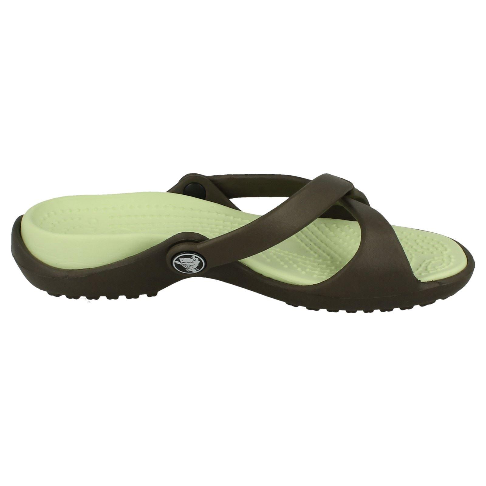 0c628e8f1 Ladies Crocs Sporty Adara Slip On Sports Sandals