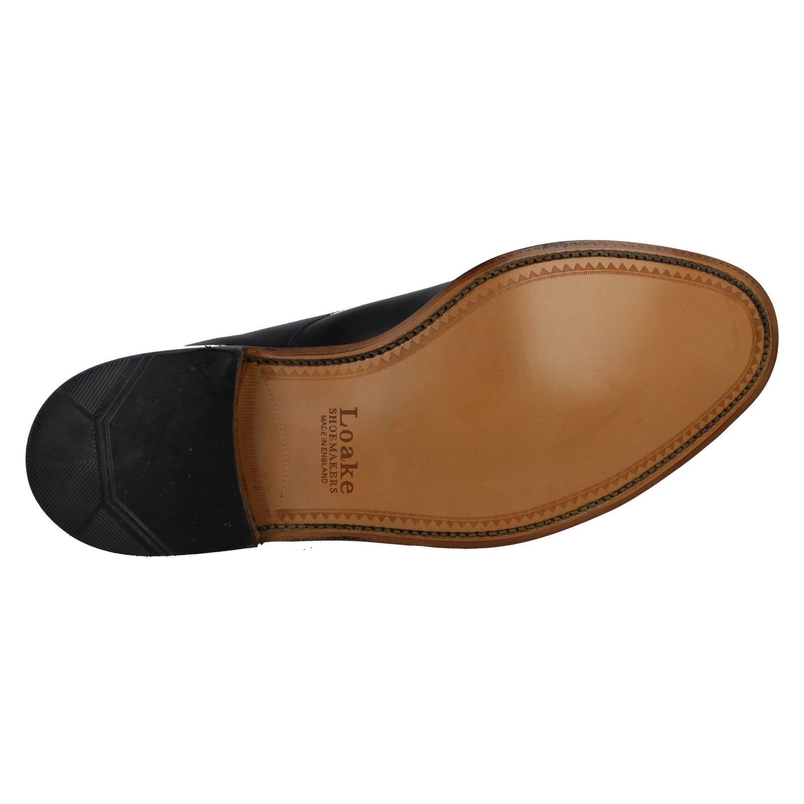 Mens Loake Elland Elland Loake Polished Leather Smart schuhe 0e77f6