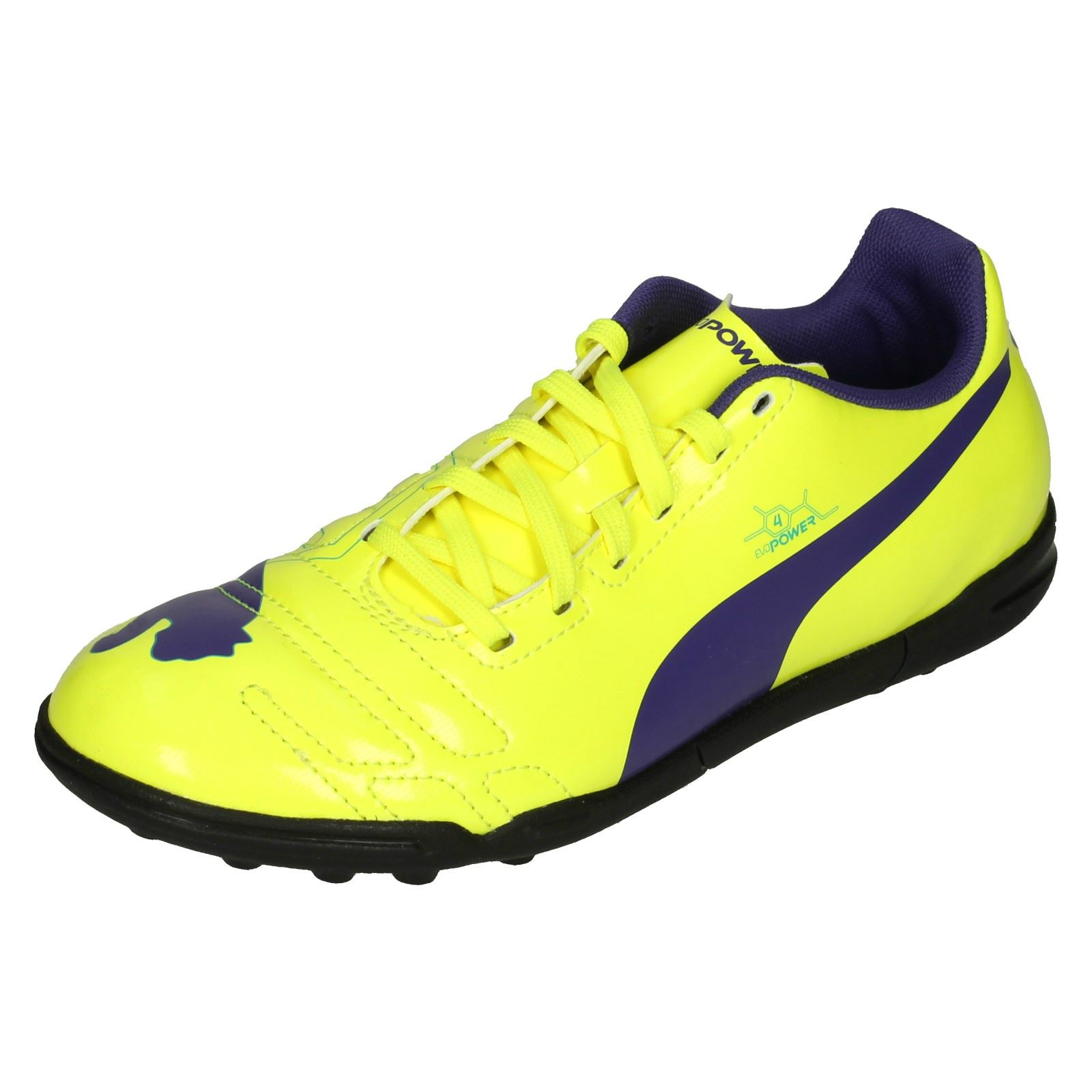 Boys Junior Puma Casual Astro Turf Football Trainers