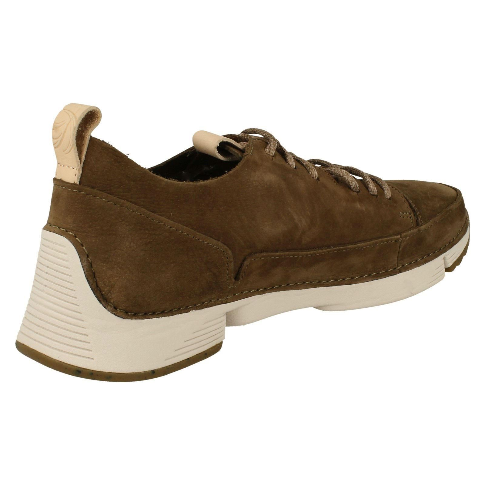 Hommes Kaki 'tri Spark' Clarks Casual Chaussures vert lacets à wPB1aq