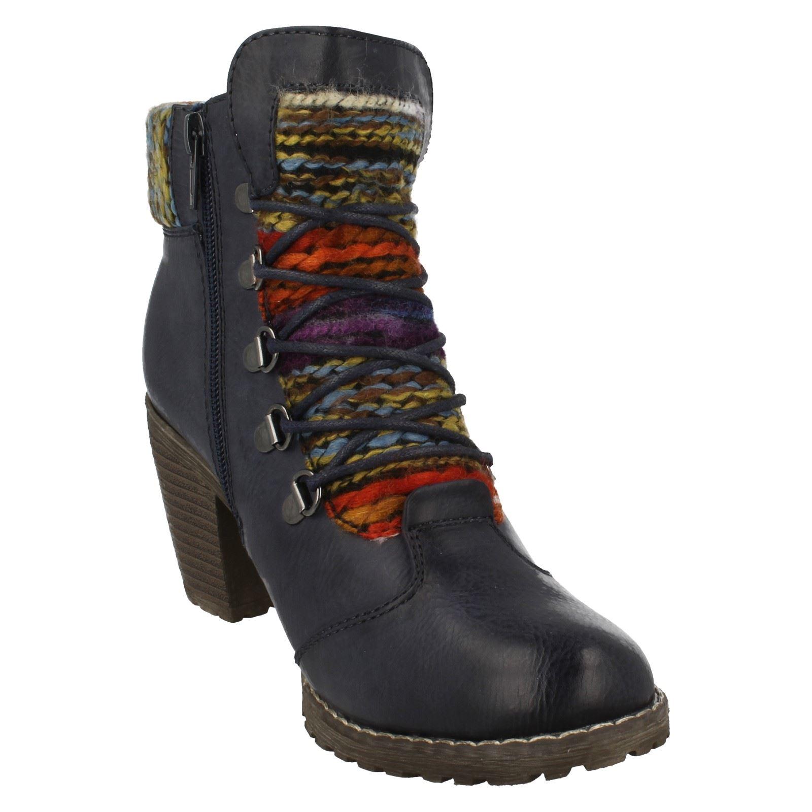 Ladies Ladies Ladies Rieker Trendy Ankle Boots 95323 32ecd2
