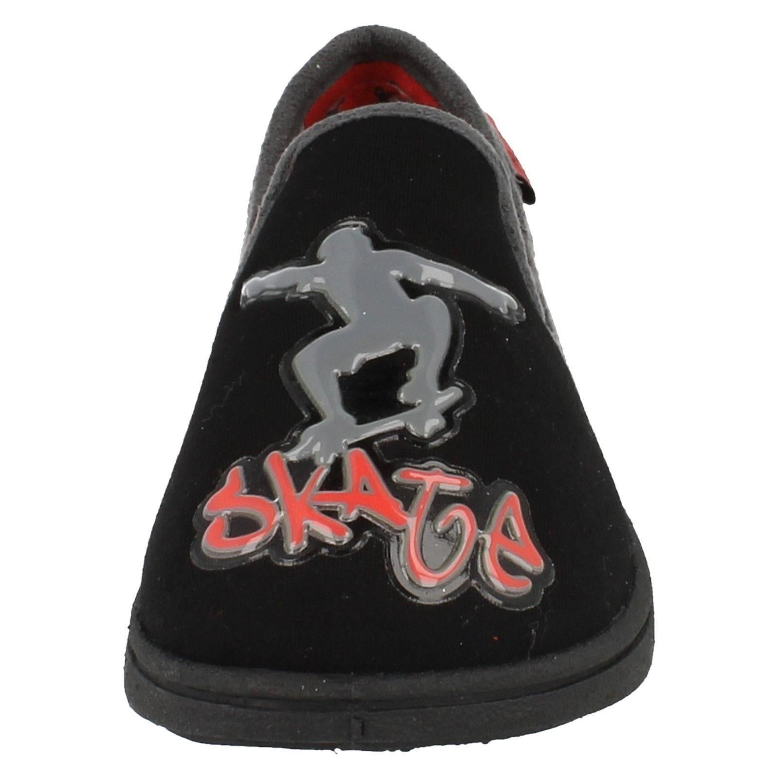 Chicos Clarks Resbalón en Zapatillas Patinadora Estilo