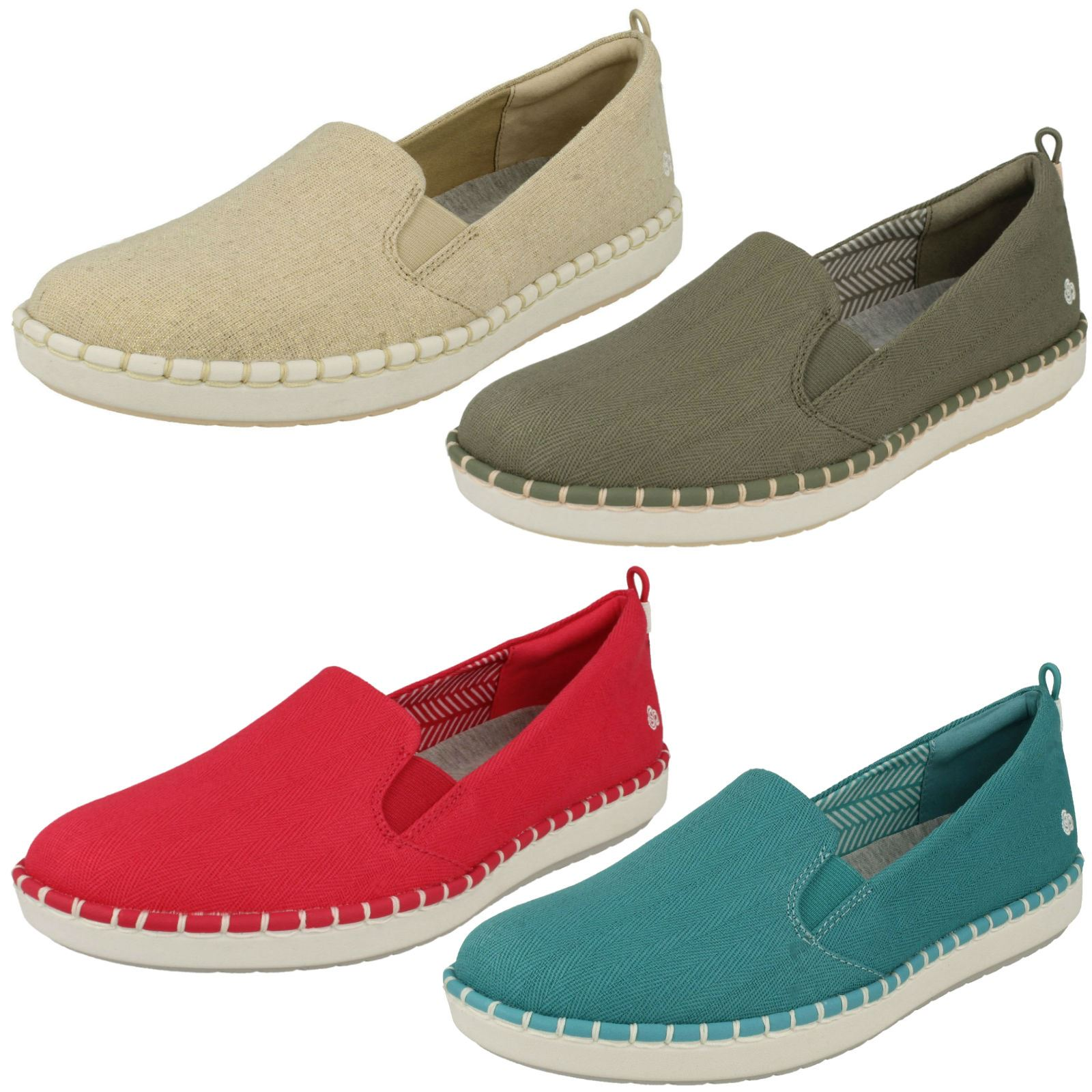 Ladies Cloud Steppers By Clarks Loafer