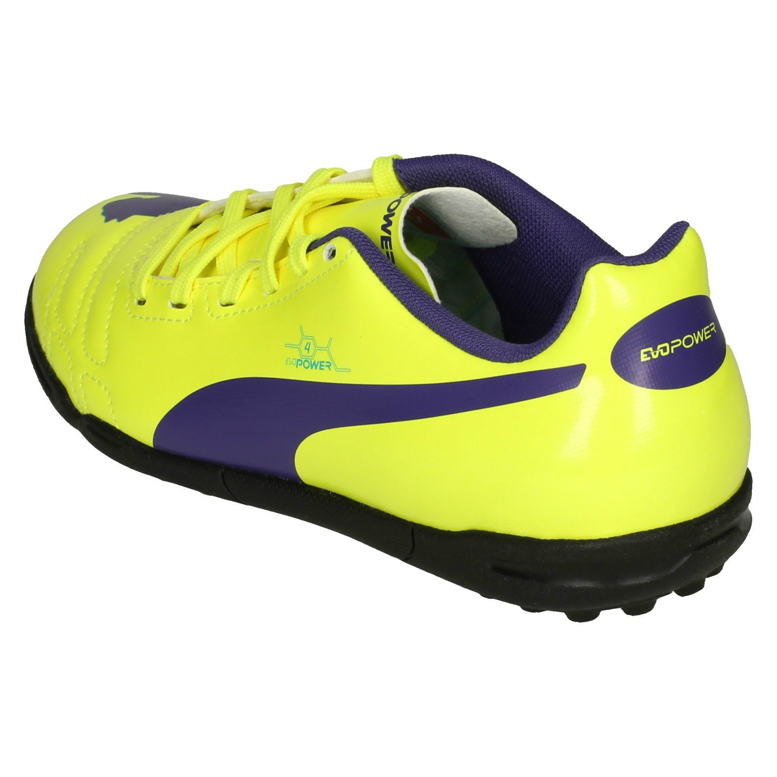 Boys Junior Puma Astro Turf Football Trainers