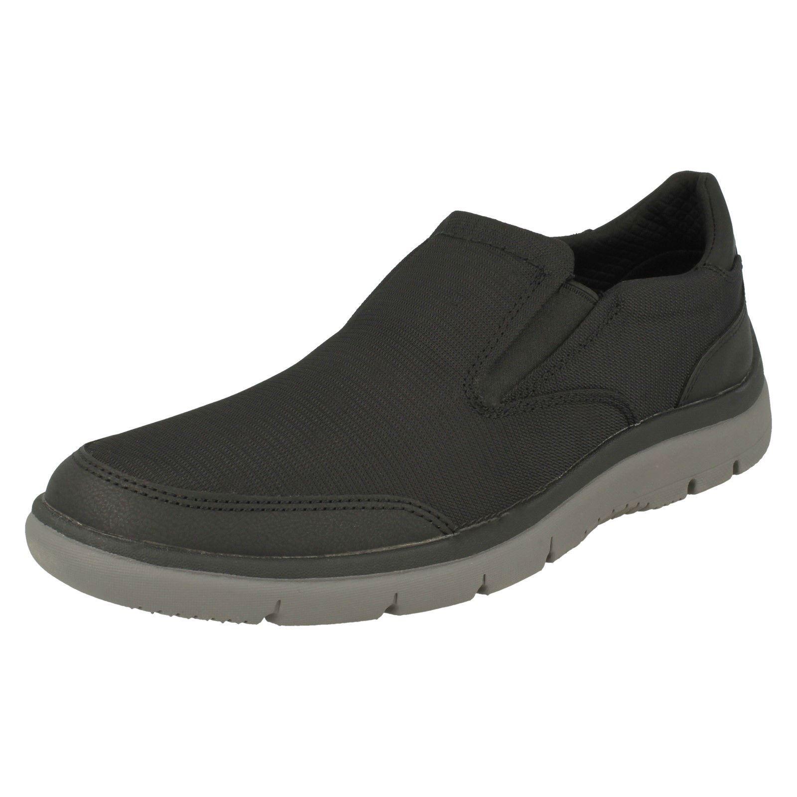 CLARKS MEN/'S TUNSIL STEP WIDE WIDTH SLIP ON WALKING SHOES