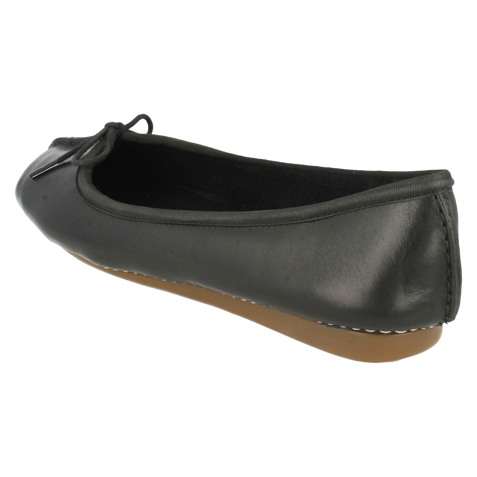 Flats Clarks Ice Black Freckle Everyday Ladies Comfort AdgxFqgwtB
