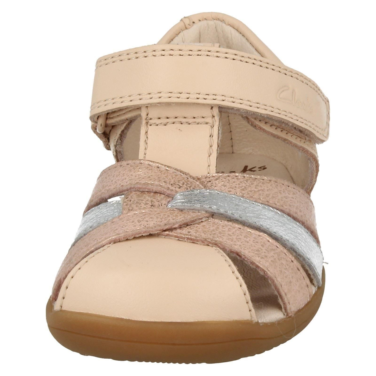35b7780958b Girls Clarks First Shoes Closed Toe Summer Sandals  Softly Mae