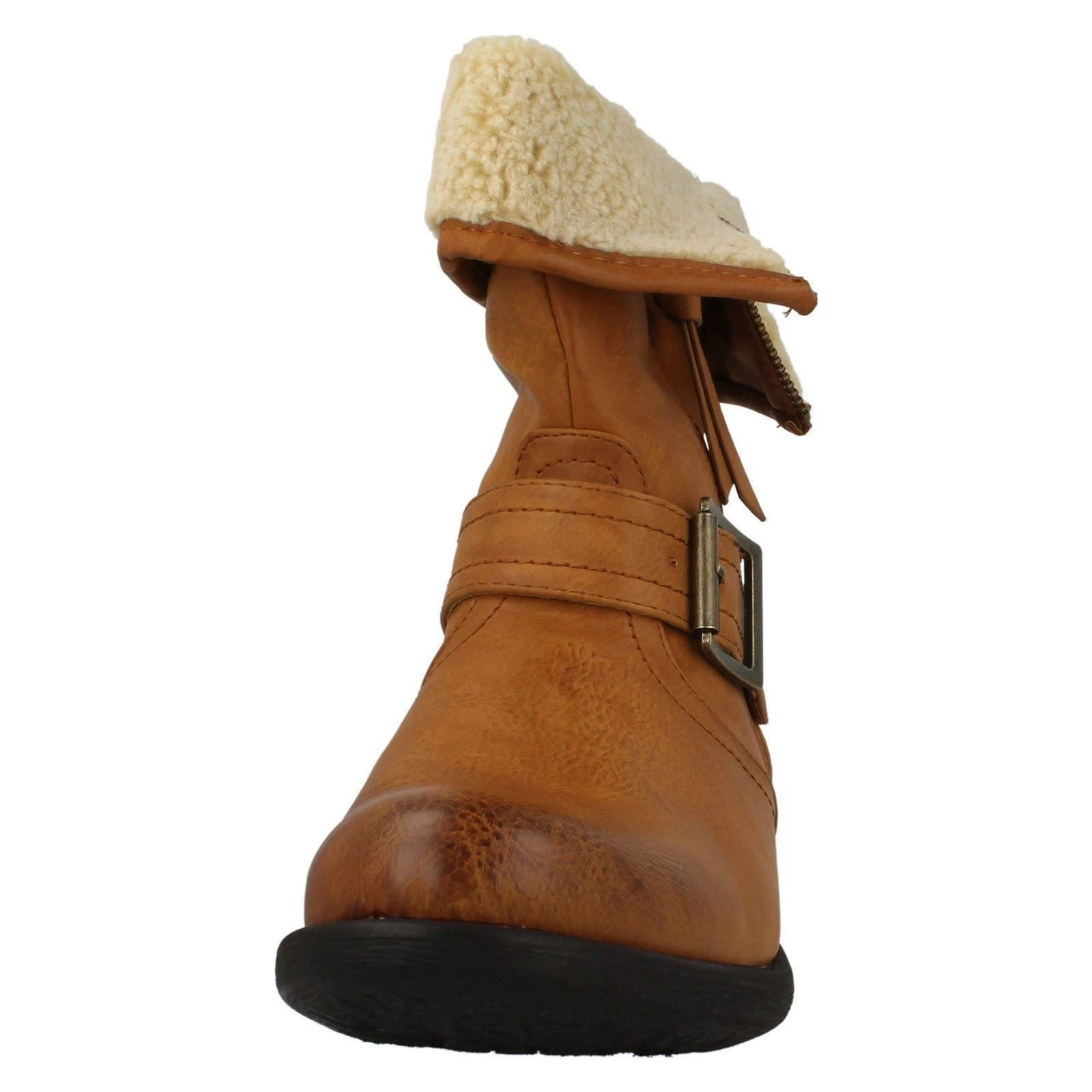 Ladies Rieker Warmlined Casual Boots 97274