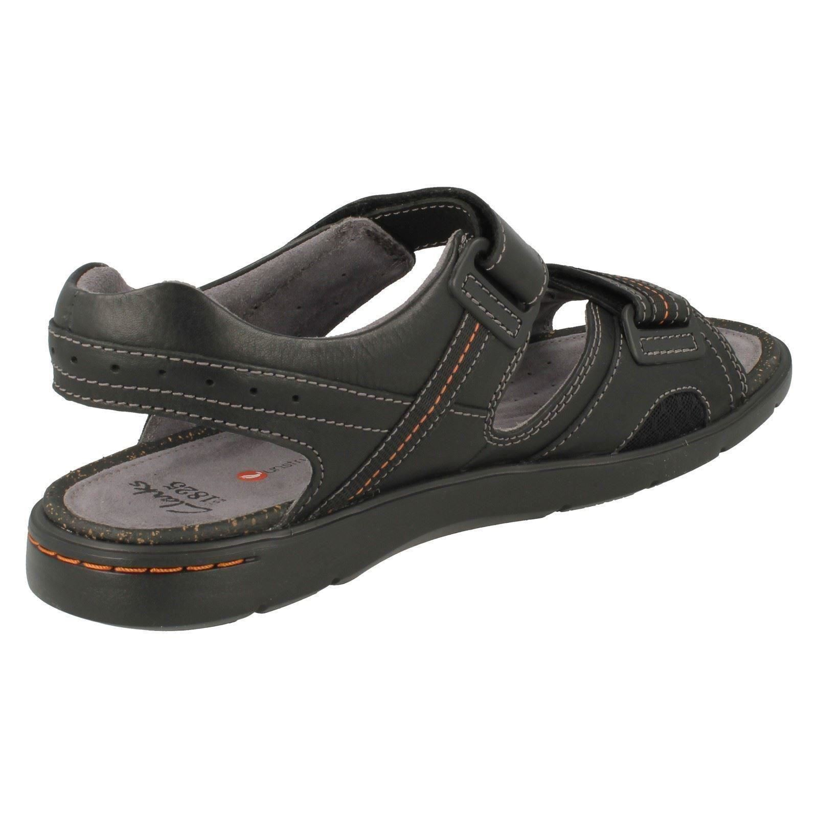 Details about Mens Unstructured by Clarks Sandals Unwilmore Sun