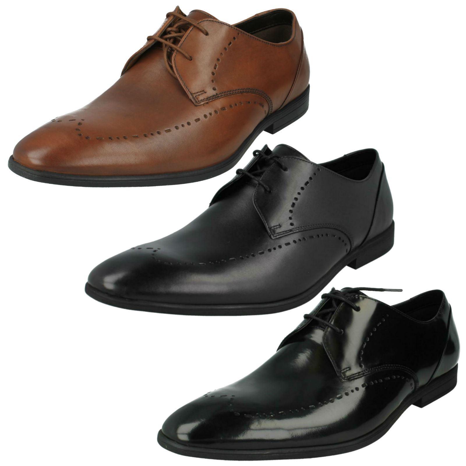 Herren Lace Clarks Smart Lace Herren Up Schuhes Bampton Limit acc64b