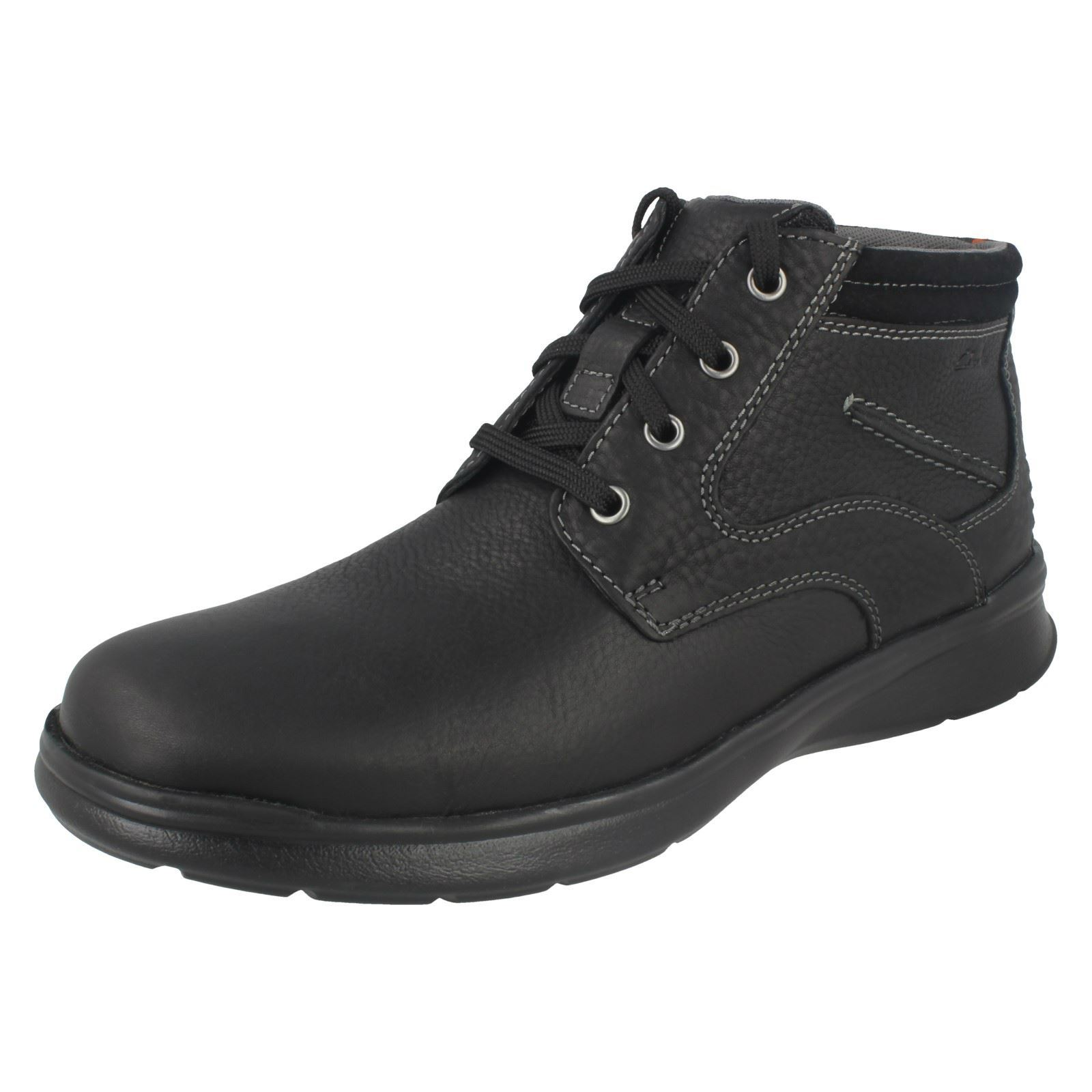 Herren Rise Clarks Cotrell Rise Herren Casual Lace Up Ankle Stiefel 751967