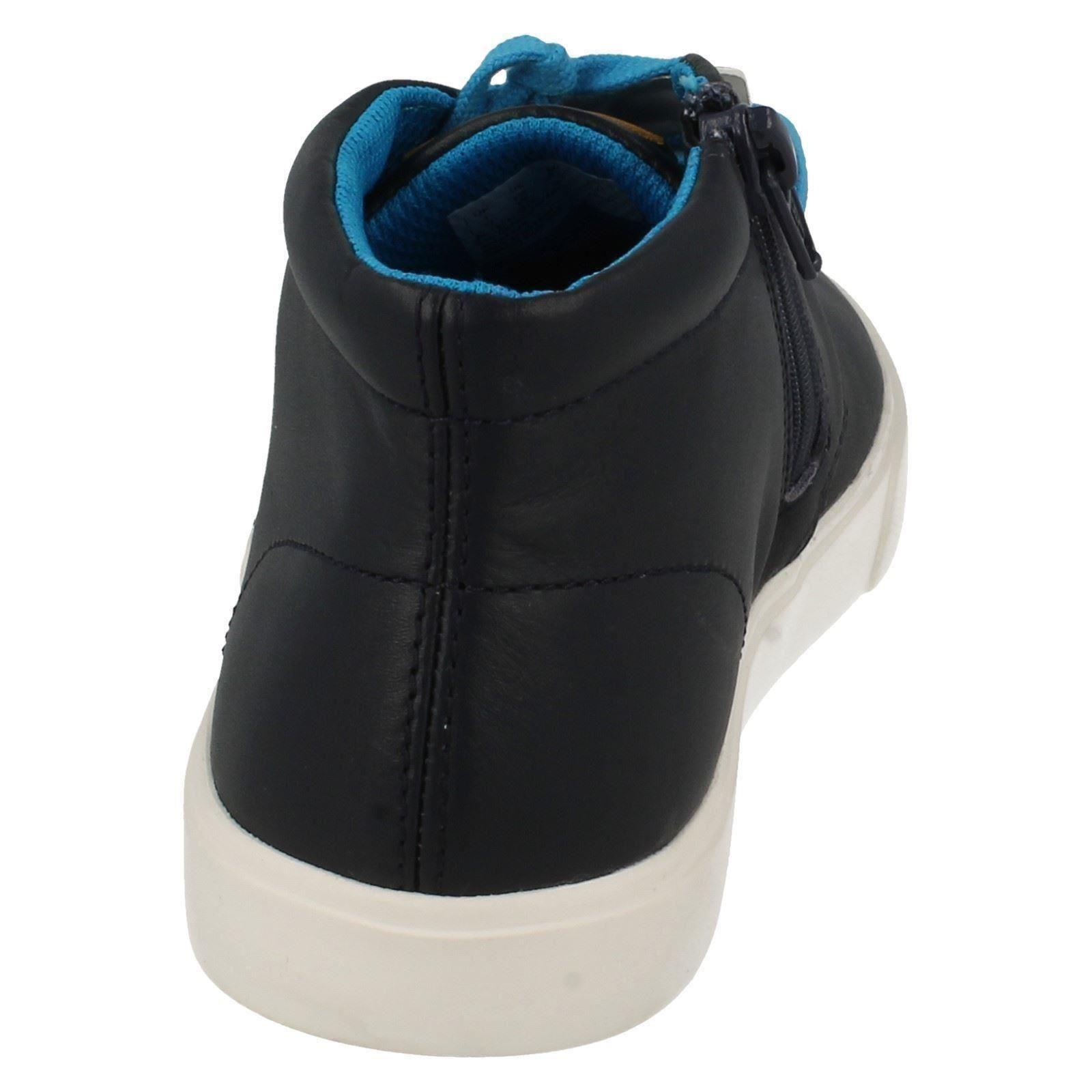 Botas casual Clarks tobillo de Trendy azul para Club Rise niños Navy RRO46wq