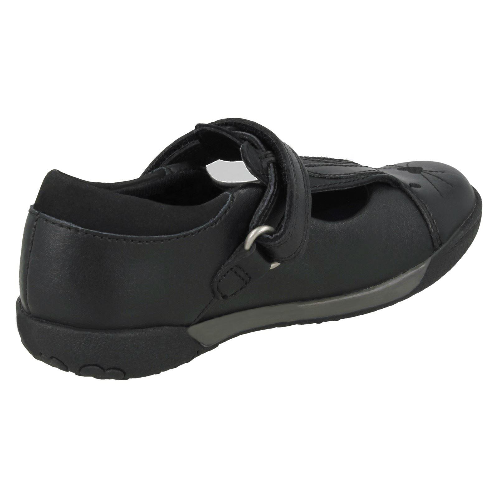 Clarks Girls School Shoes - Nibbles Jig