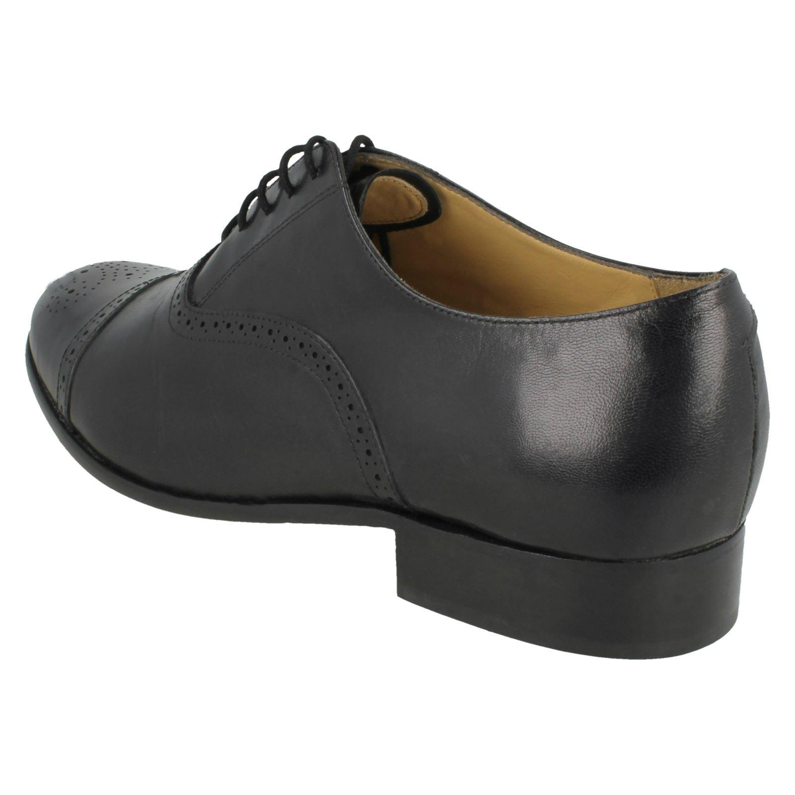 Blunt Pancras Shoes Formal Smart Mens Thomas Leather St Black pAU5x6xq