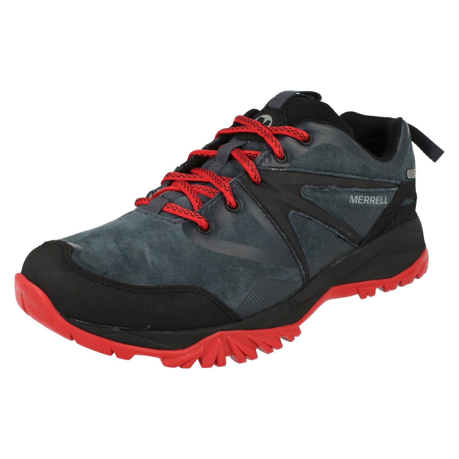 Mens Merrell Waterproof Lace Up Trainers Capra Bolt Bolt Bolt Leather WTPF c357d4