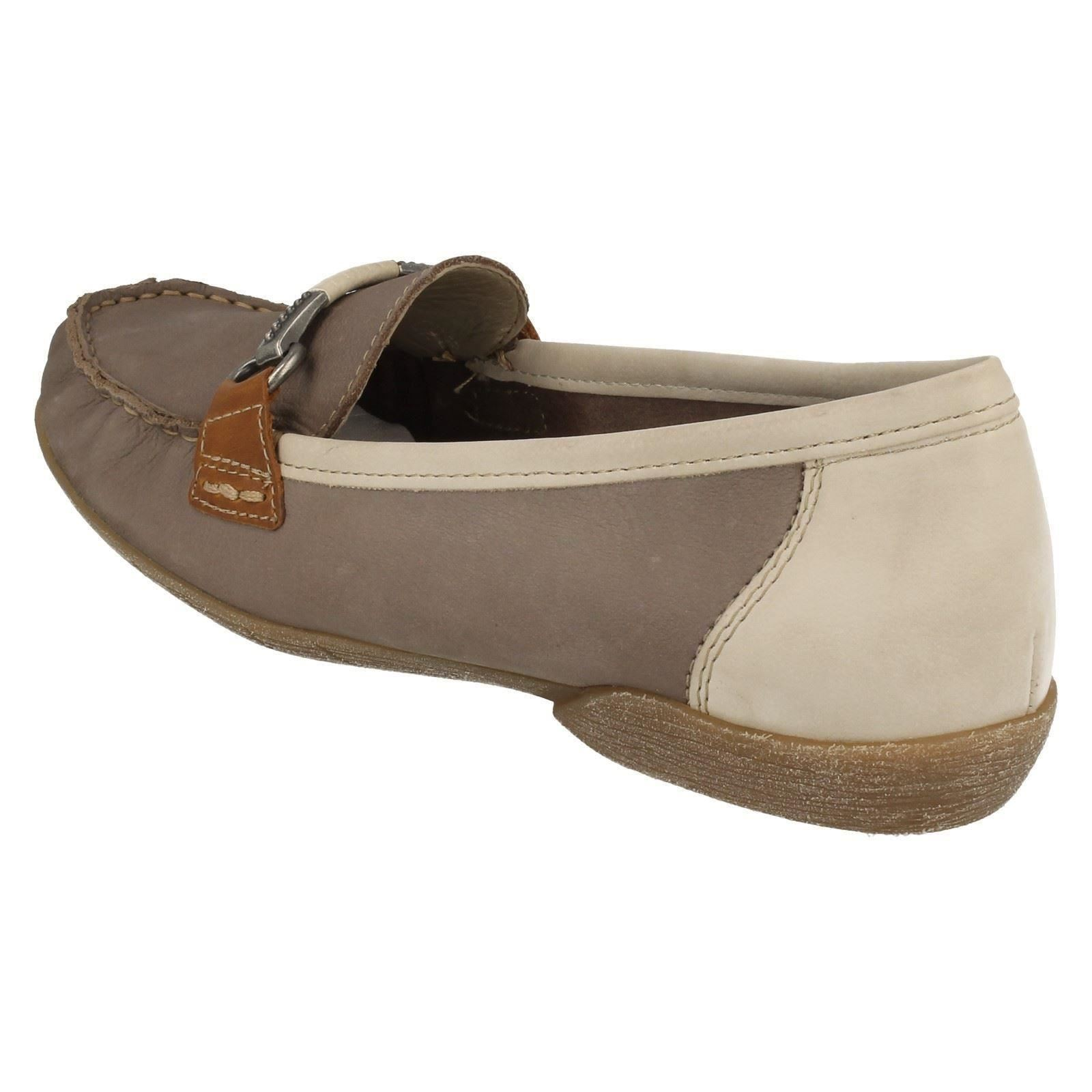 Détails sur Femmes rieker Style Mocassin Chaussures '42150