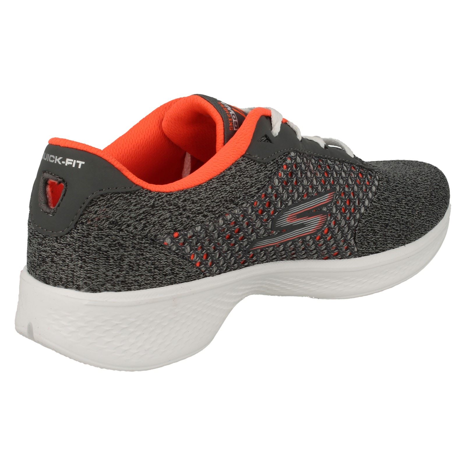 Ladies-Skechers-Lace-Up-Sports-Trainers-Go-Walk-4-039-Exceed-14146-039