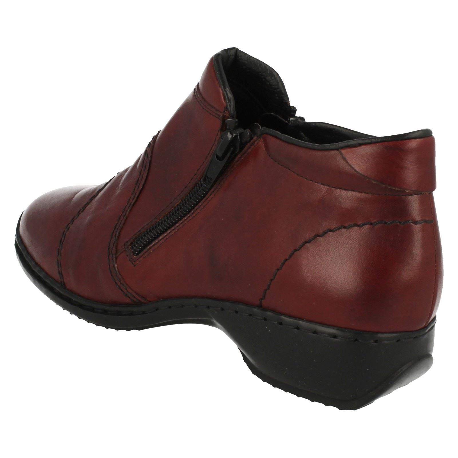 Ladies Rieker Stylish Antistress Ankle Boots L3892
